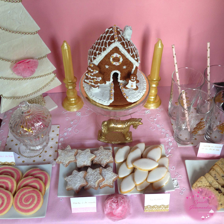 sweet table noel 2