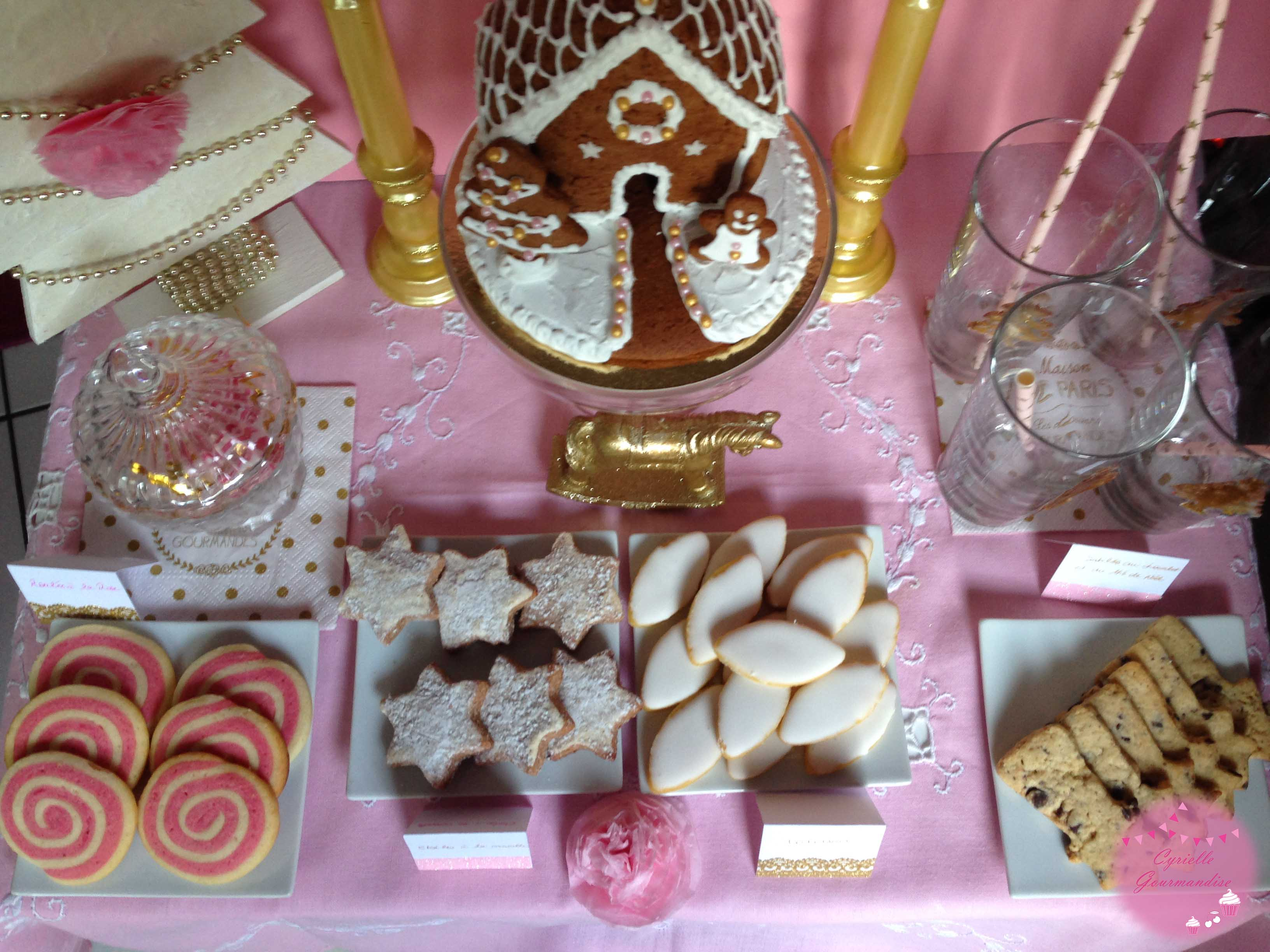sweet table noel 3
