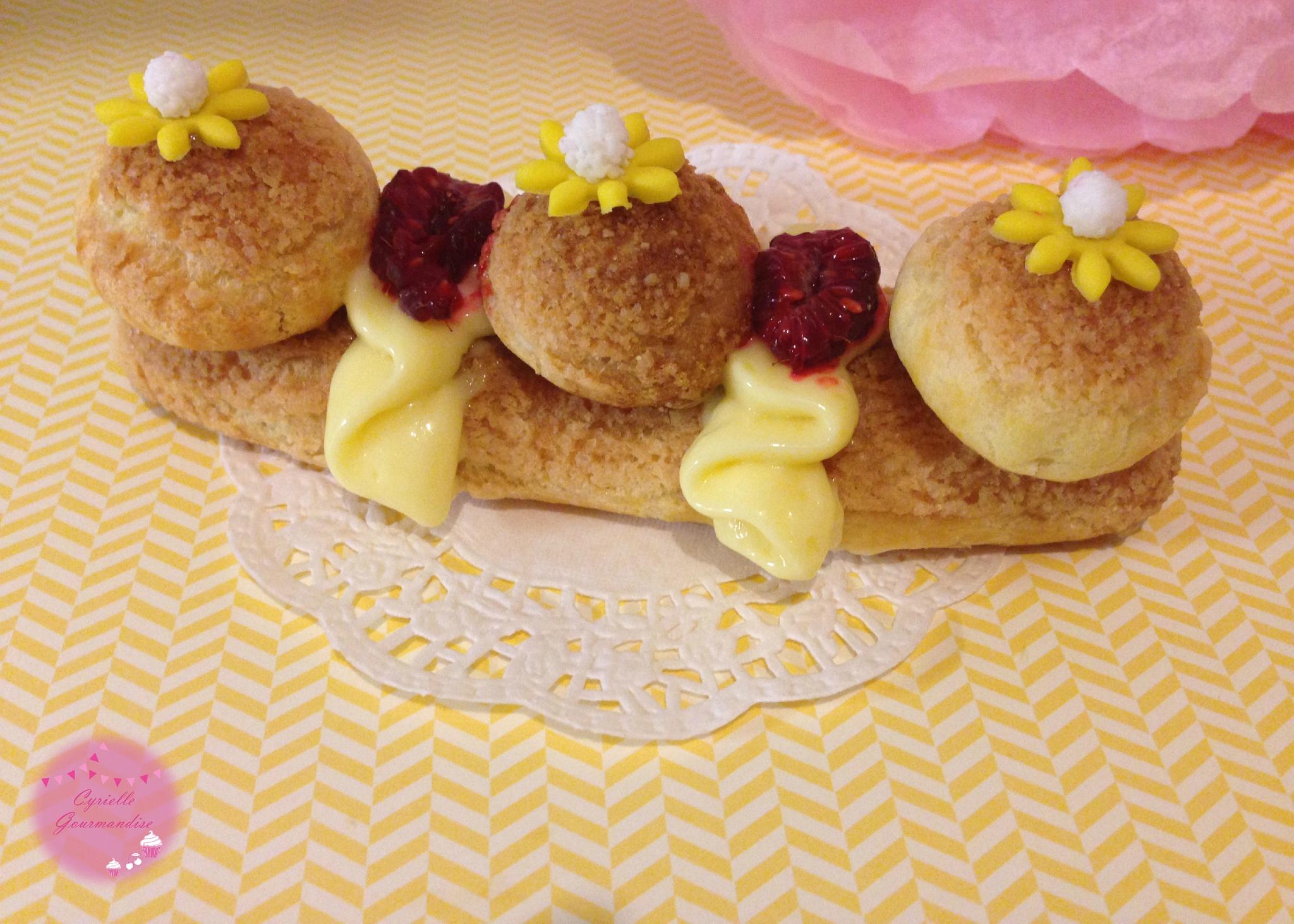 Naked Cake Framboise Citron