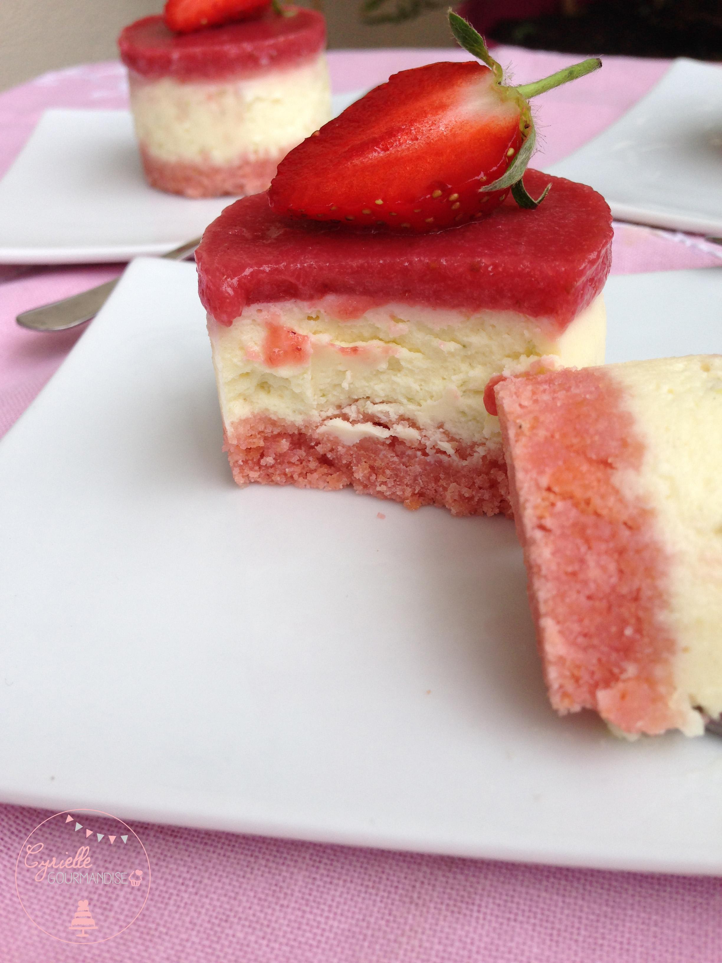 cheesecake citron vert fraises 1