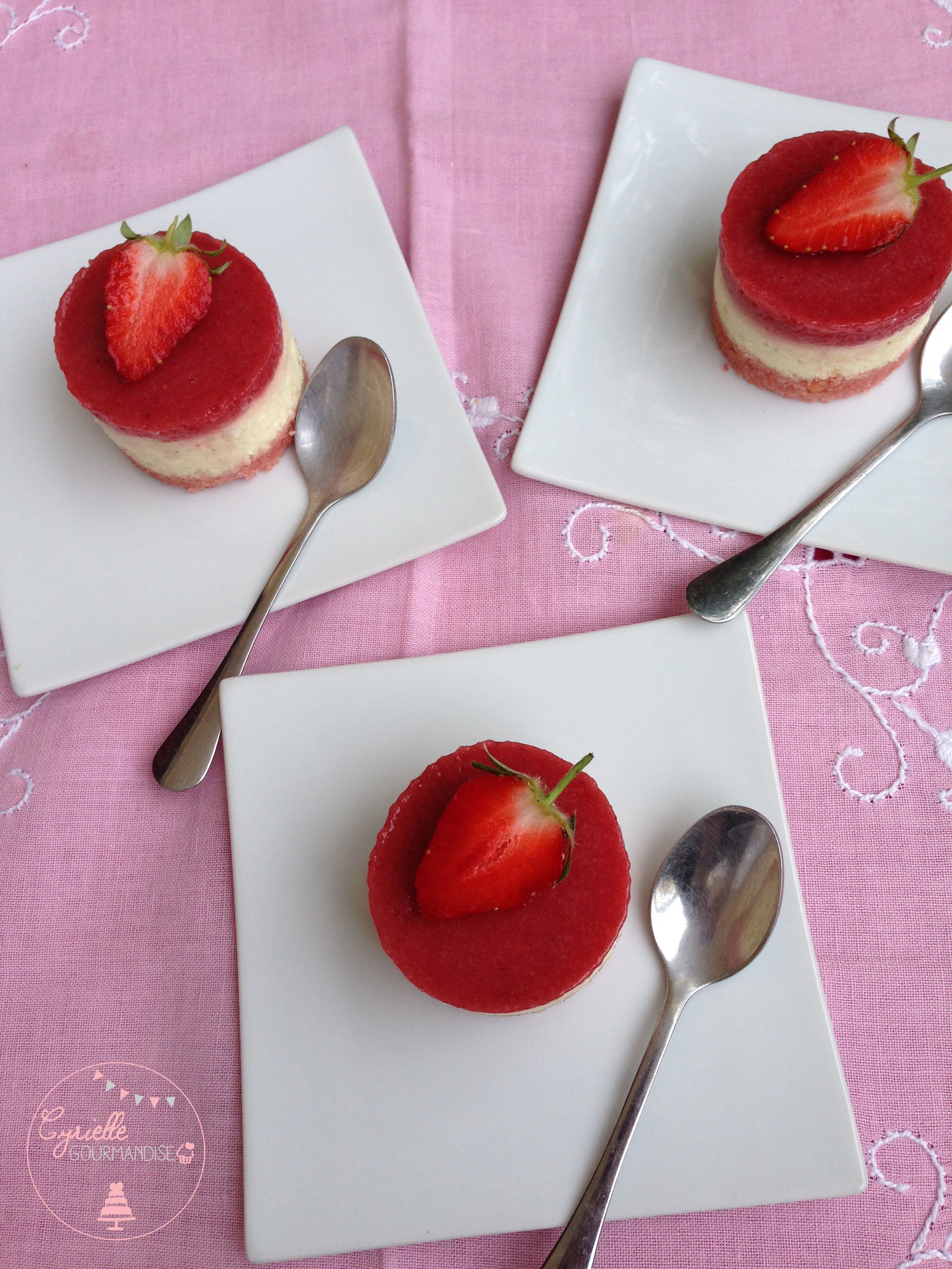 cheesecake citron vert fraises 3
