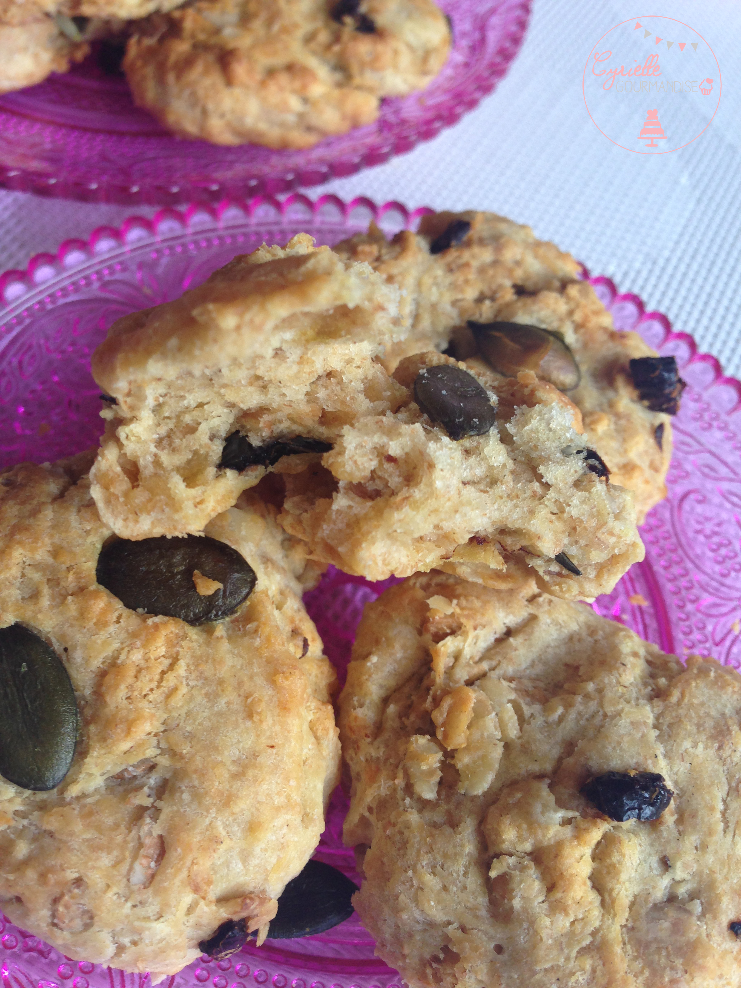 cookies graines de courge 2