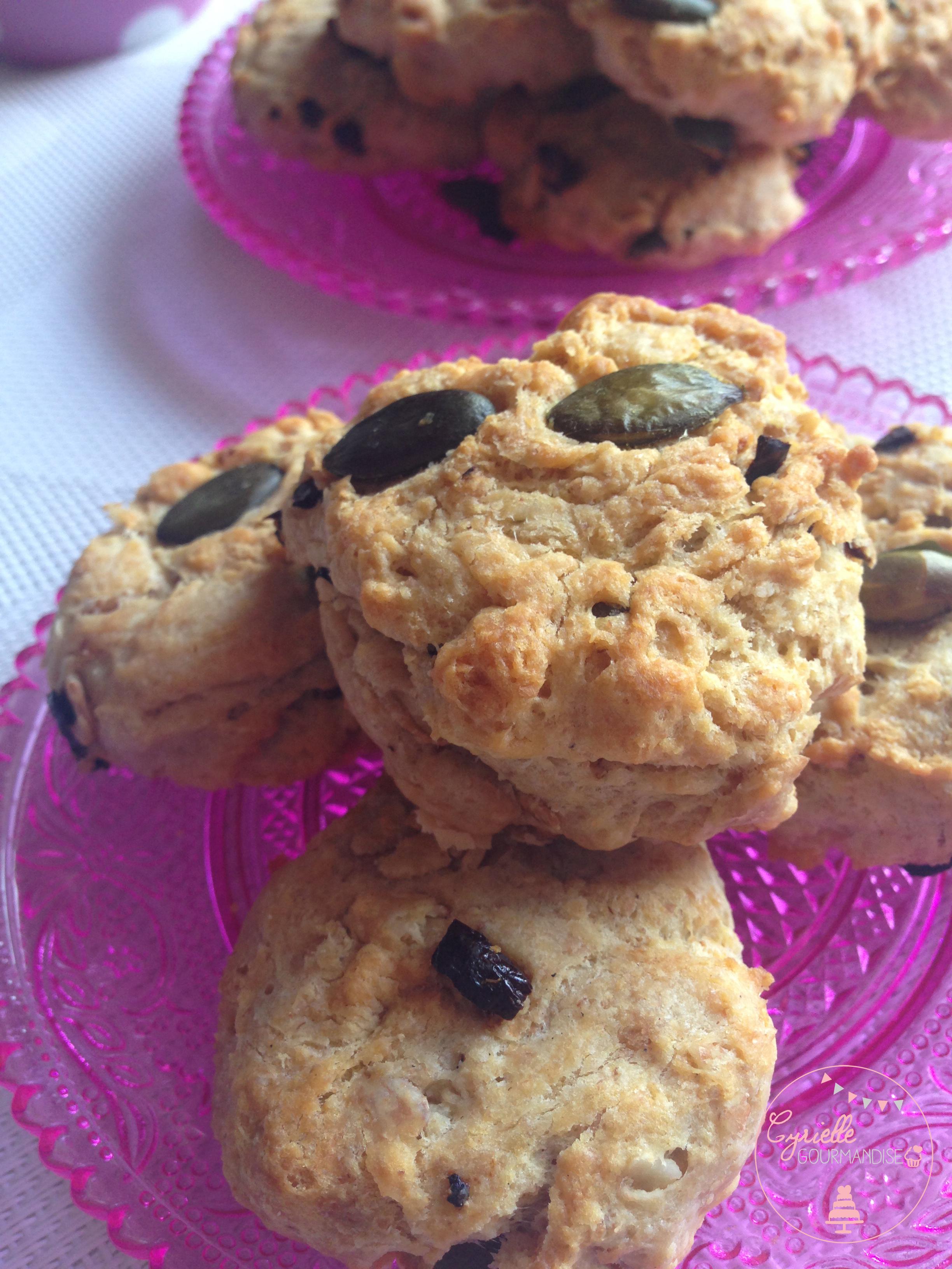 cookies graines de courge