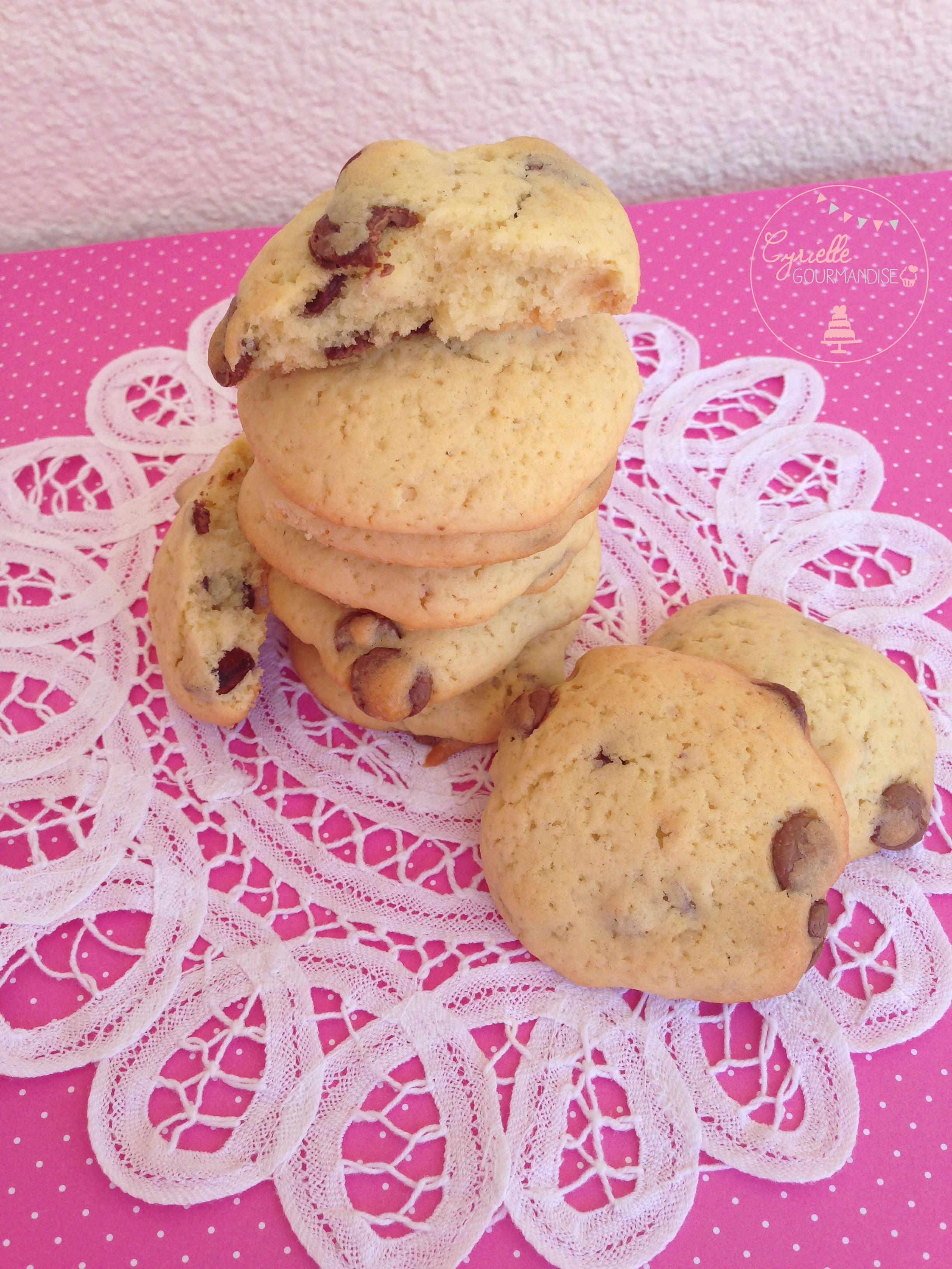 cookies moelleux 2