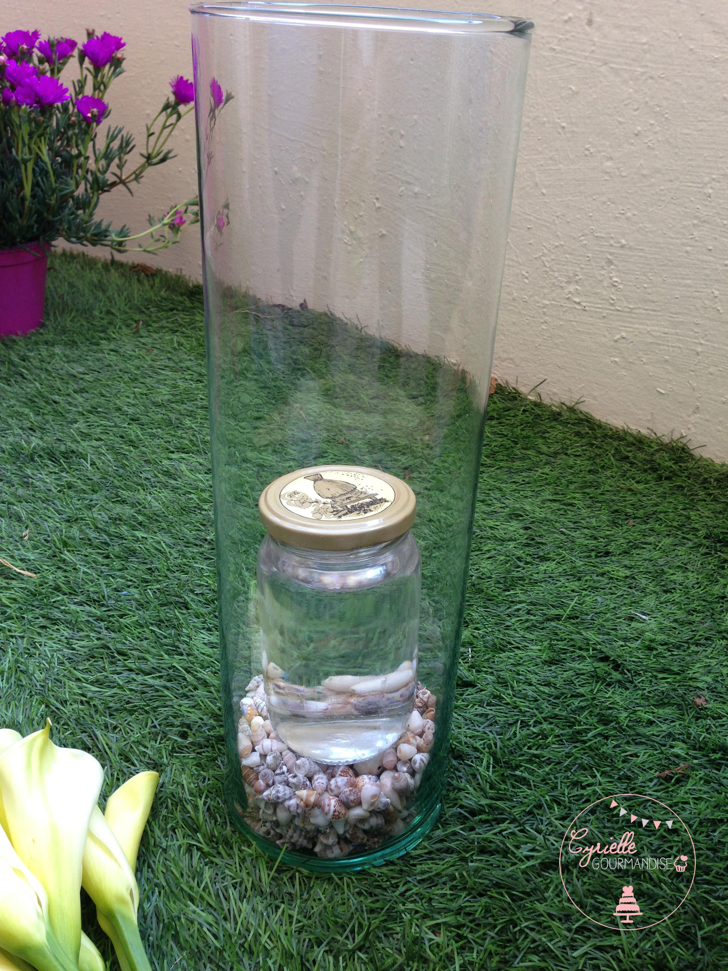 DIY vase coquillage prépa 3