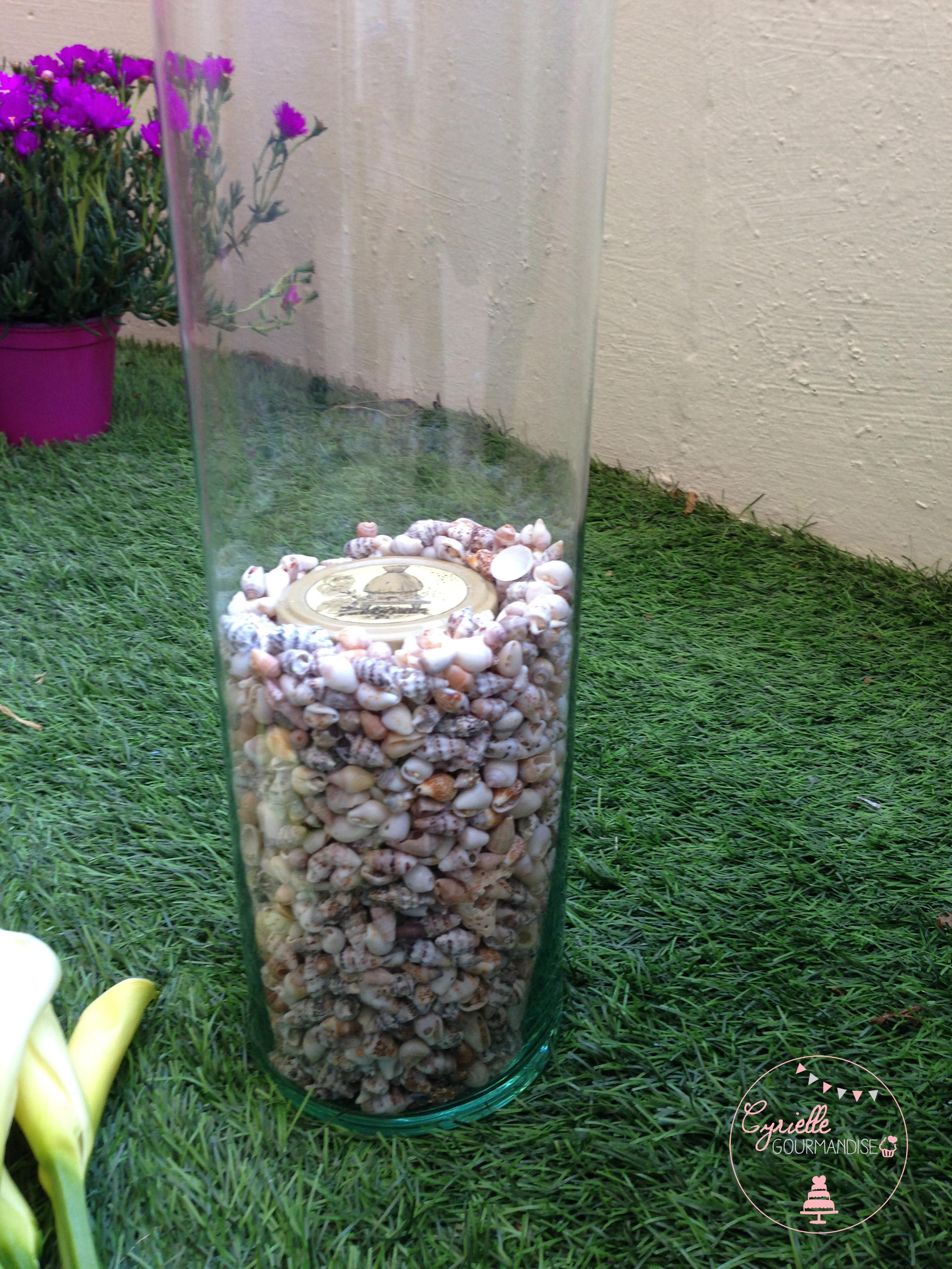 DIY vase coquillage prépa 4