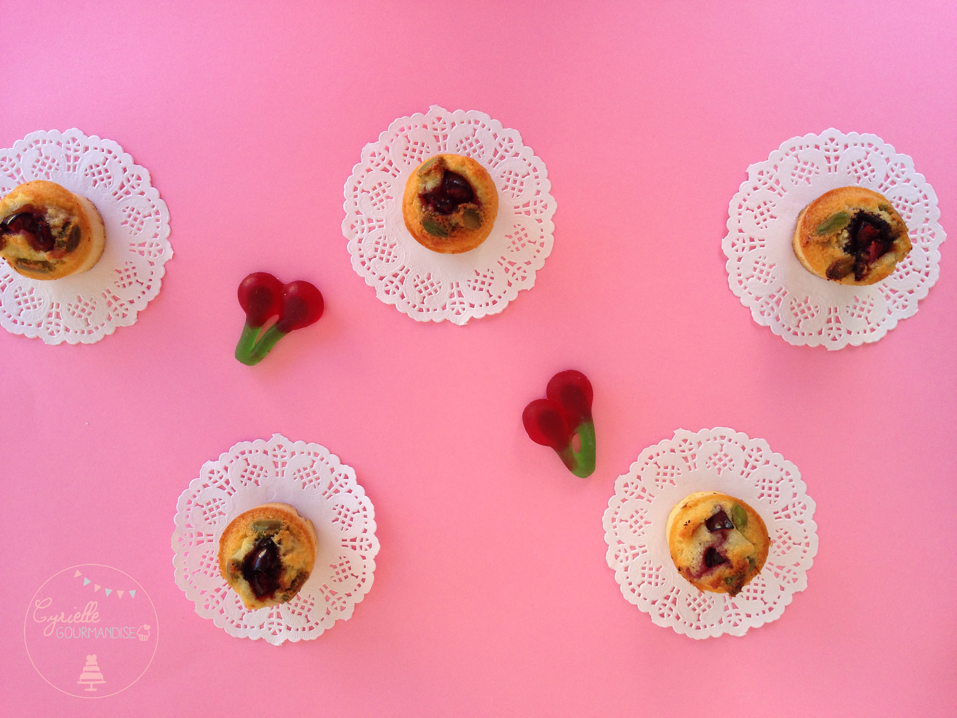 financier cerise sans chantilly
