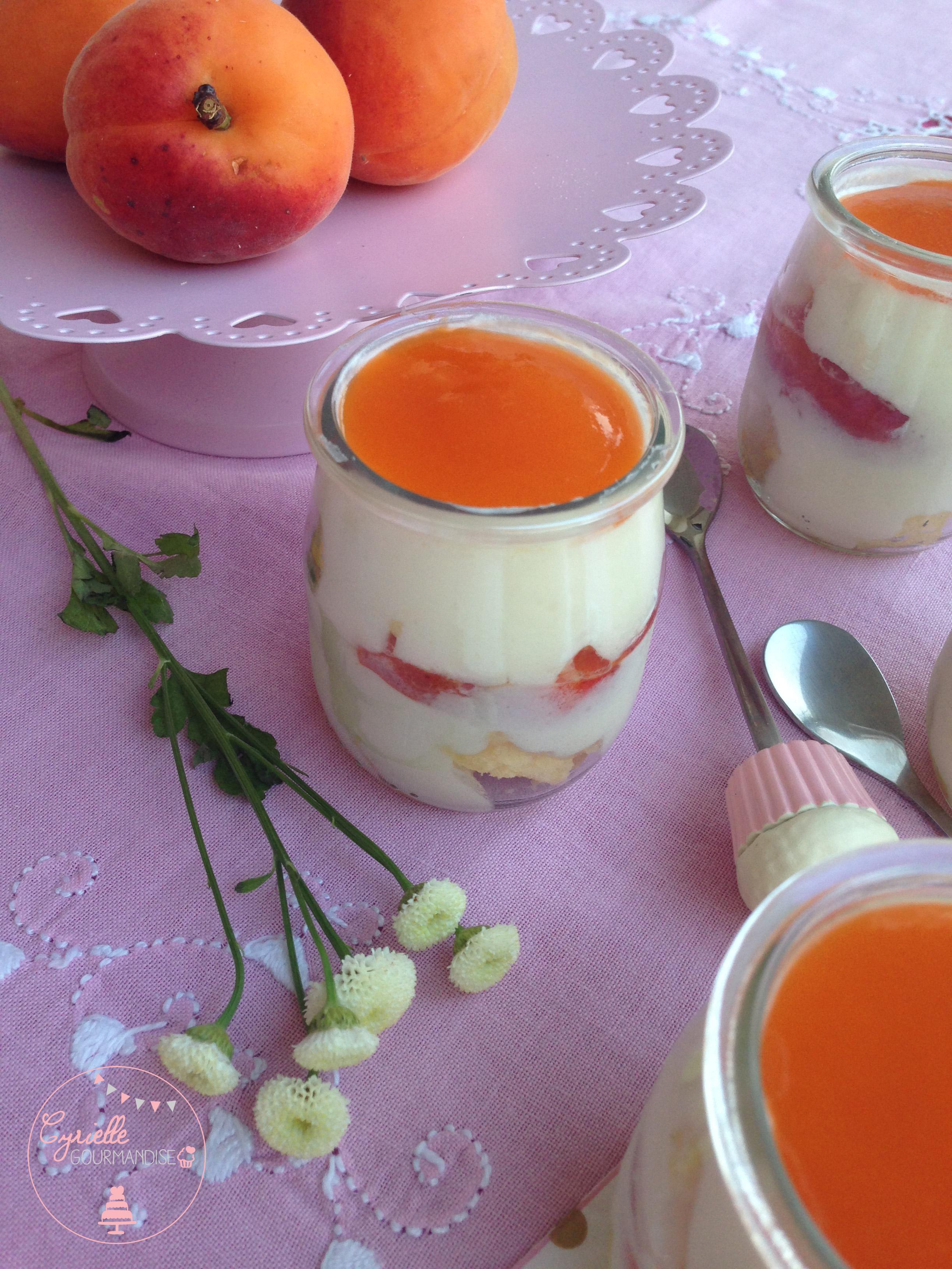 Tiramisu abricots 3