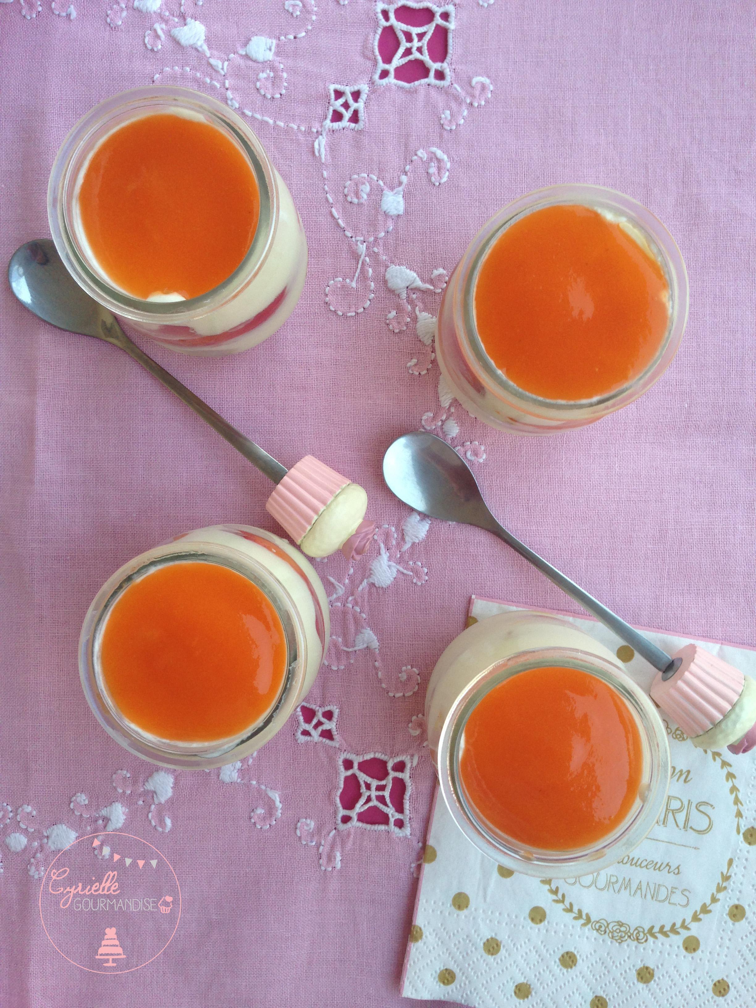Tiramisu abricots 4