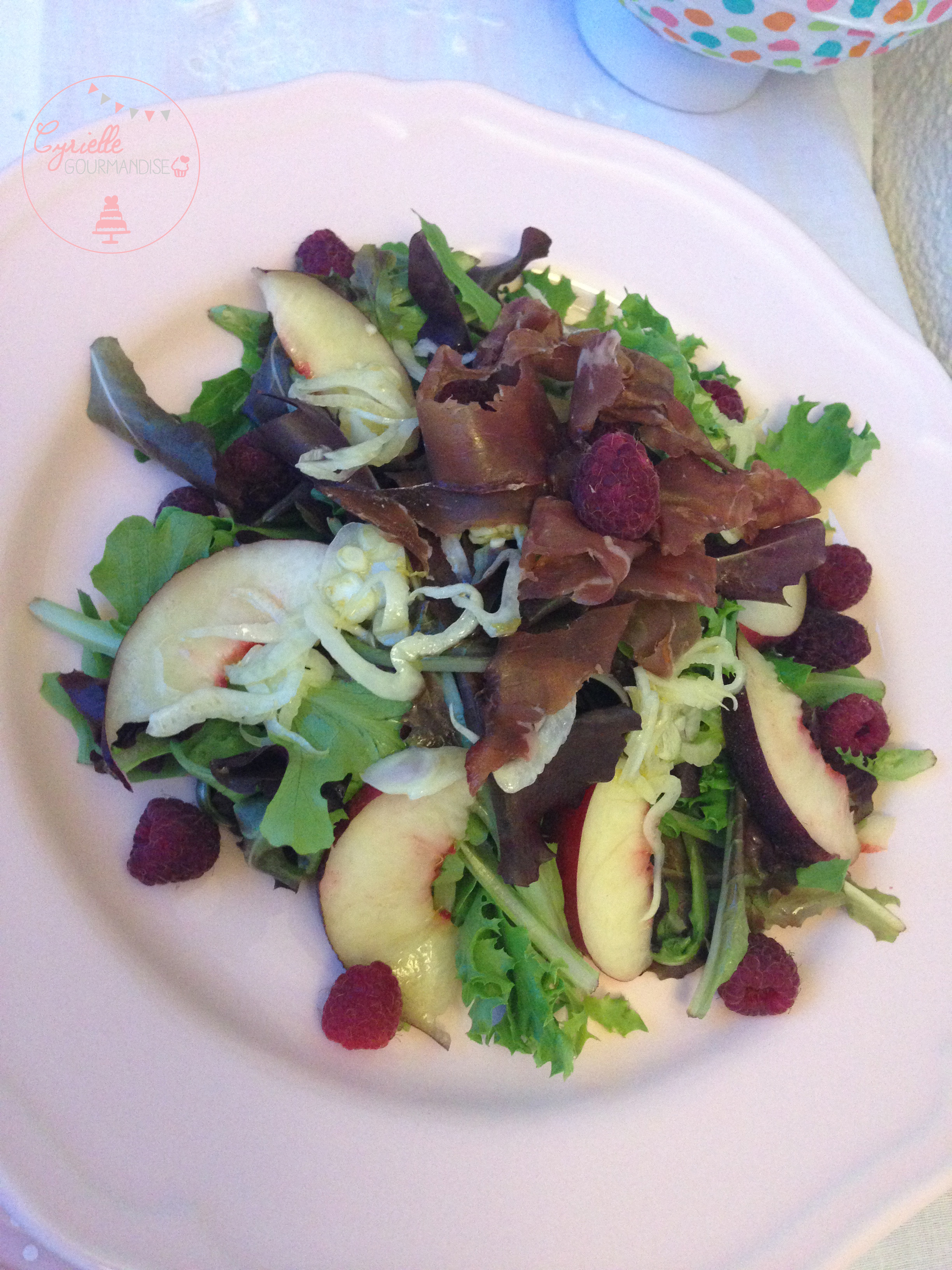 Salade peche fenouil 5