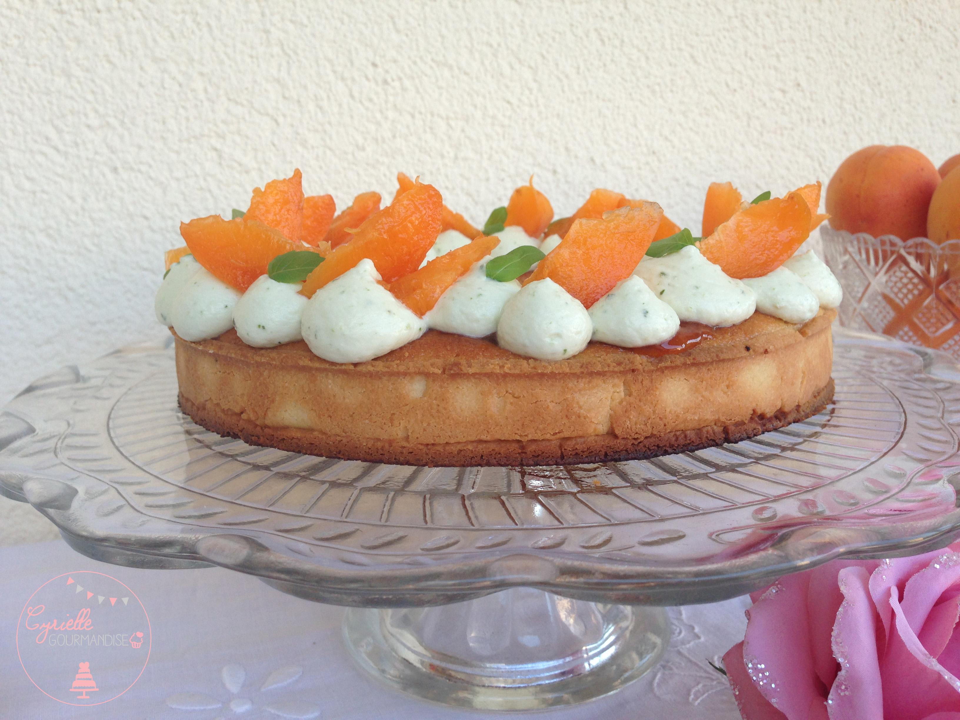 Tarte abricots basilic 1