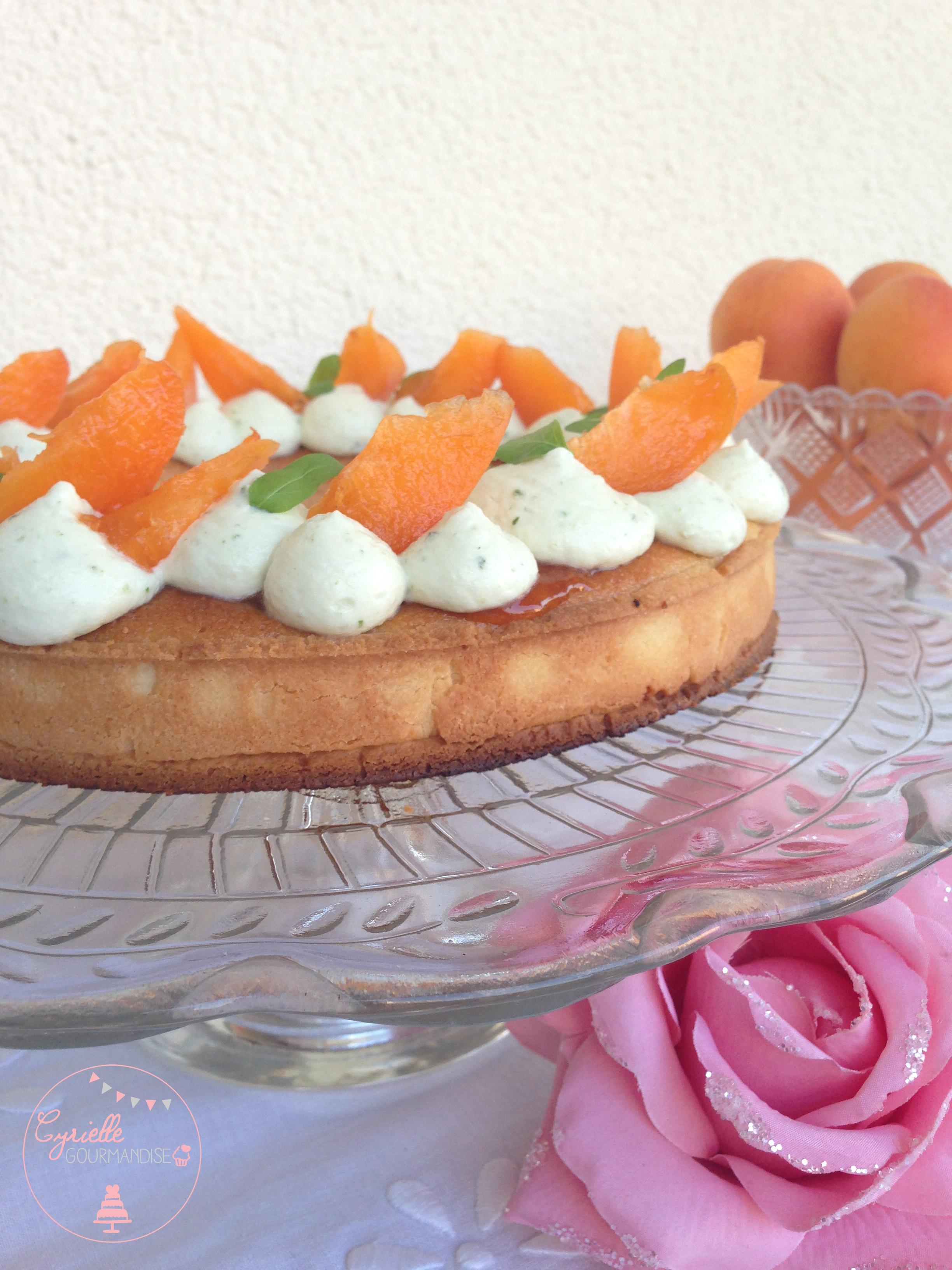 Tarte abricots basilic 3