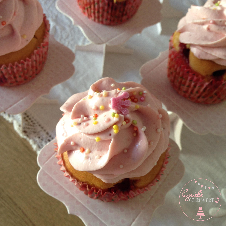 Cupcakes fraises 4