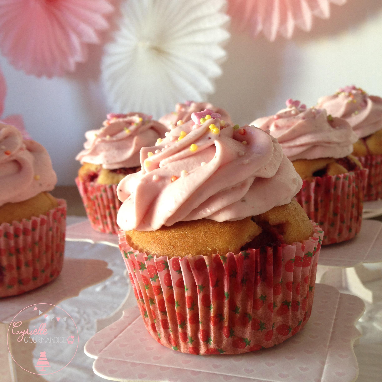 Cupcakes fraises 5