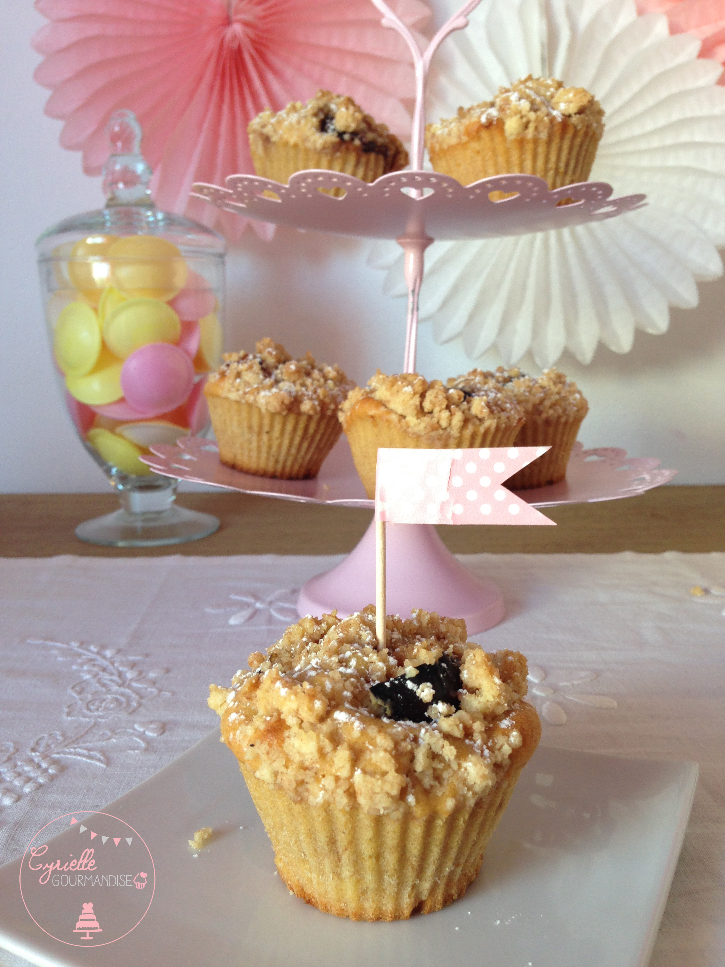 Muffins figues cannelle