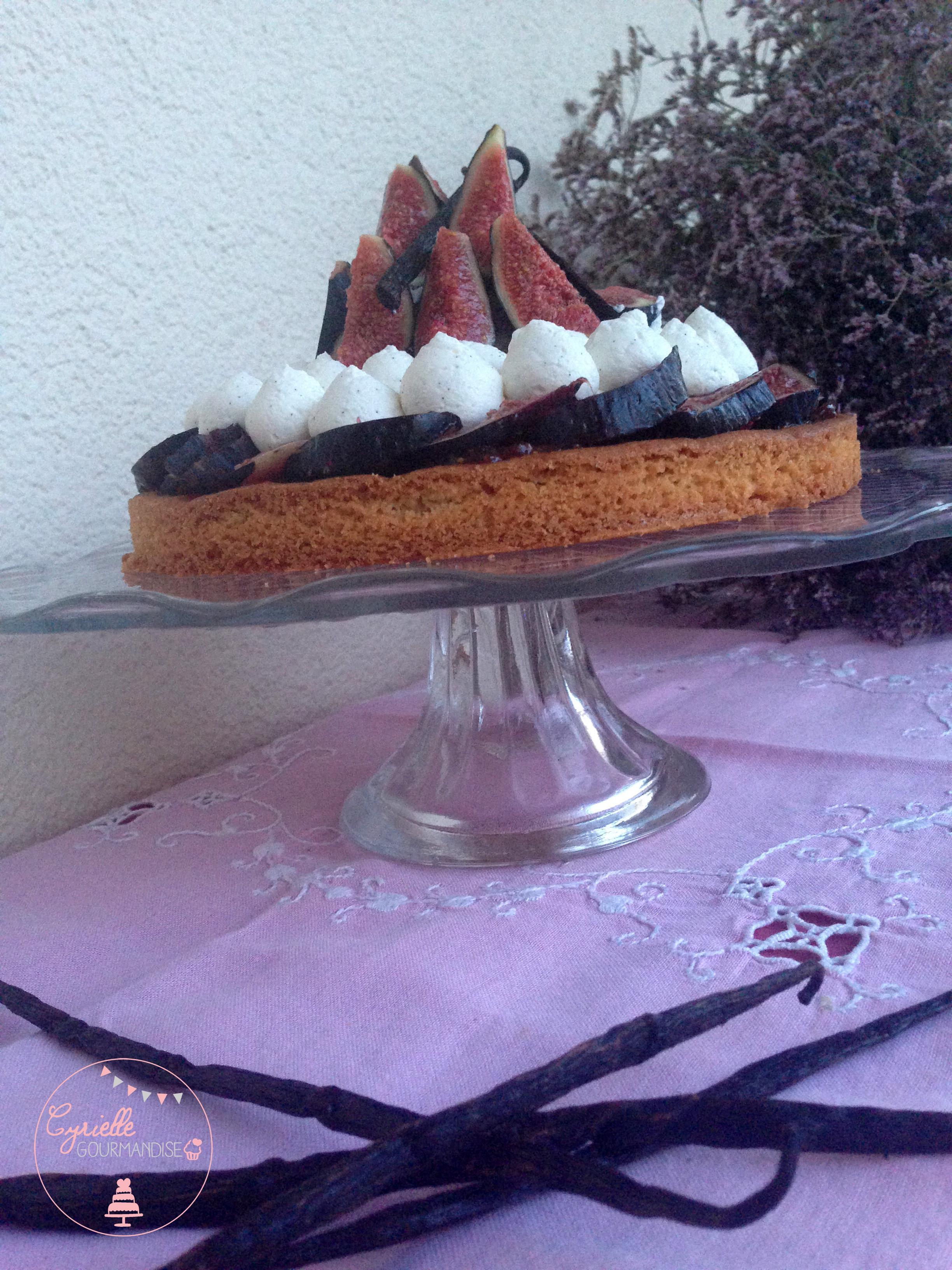 Sablé breton figues vanille - gousses