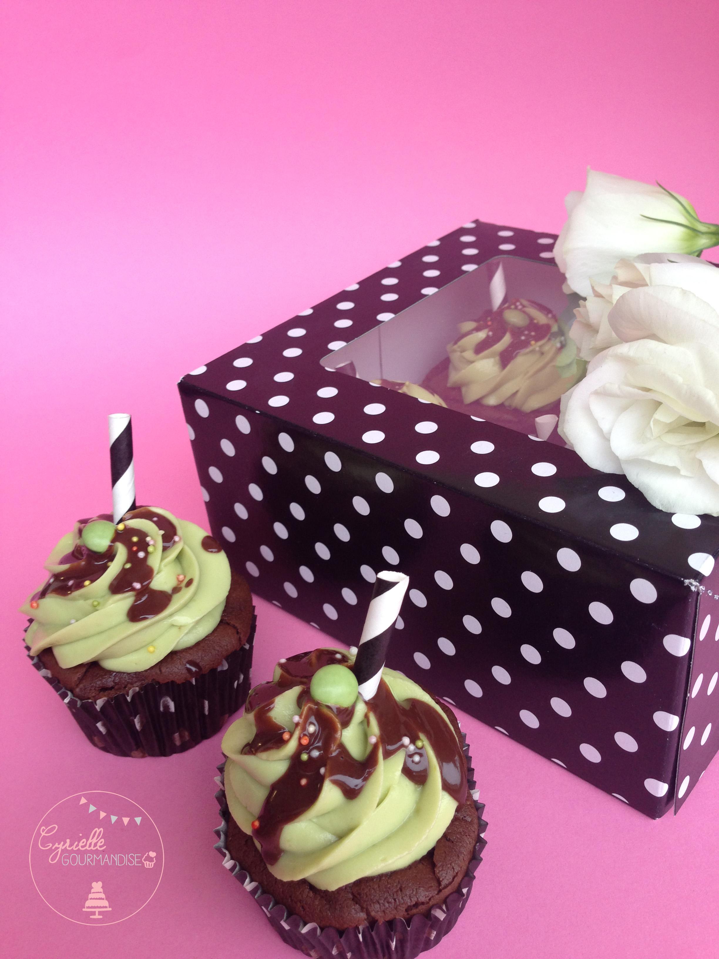 Cupcakes chocolat avocat 4