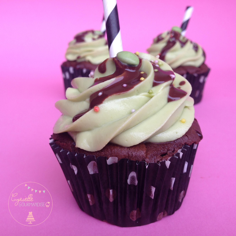 Cupcakes chocolat avocat 7