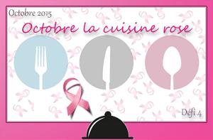 Octobre la cuisine rose