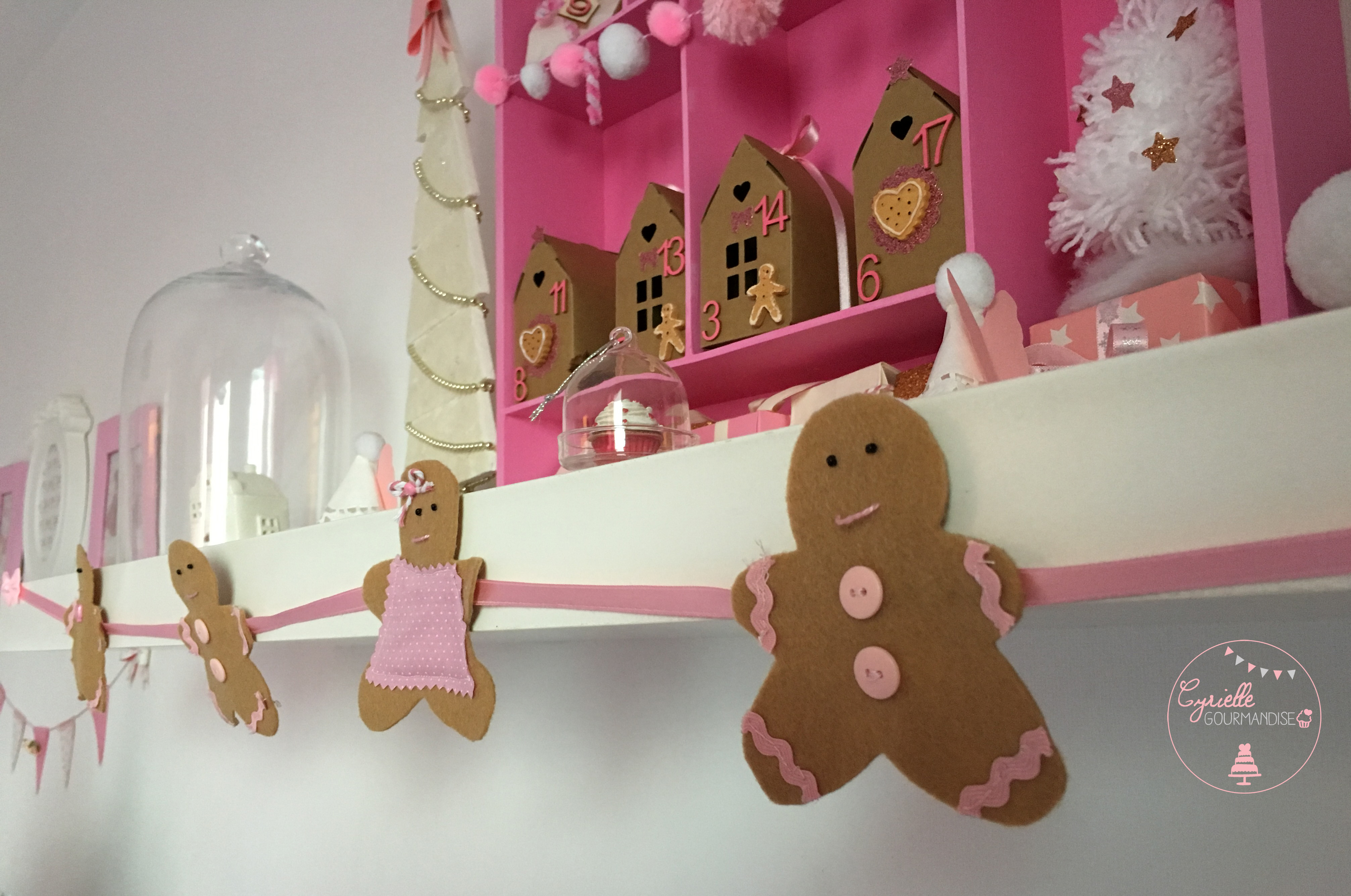 Guirlande Gingerbread installée 2