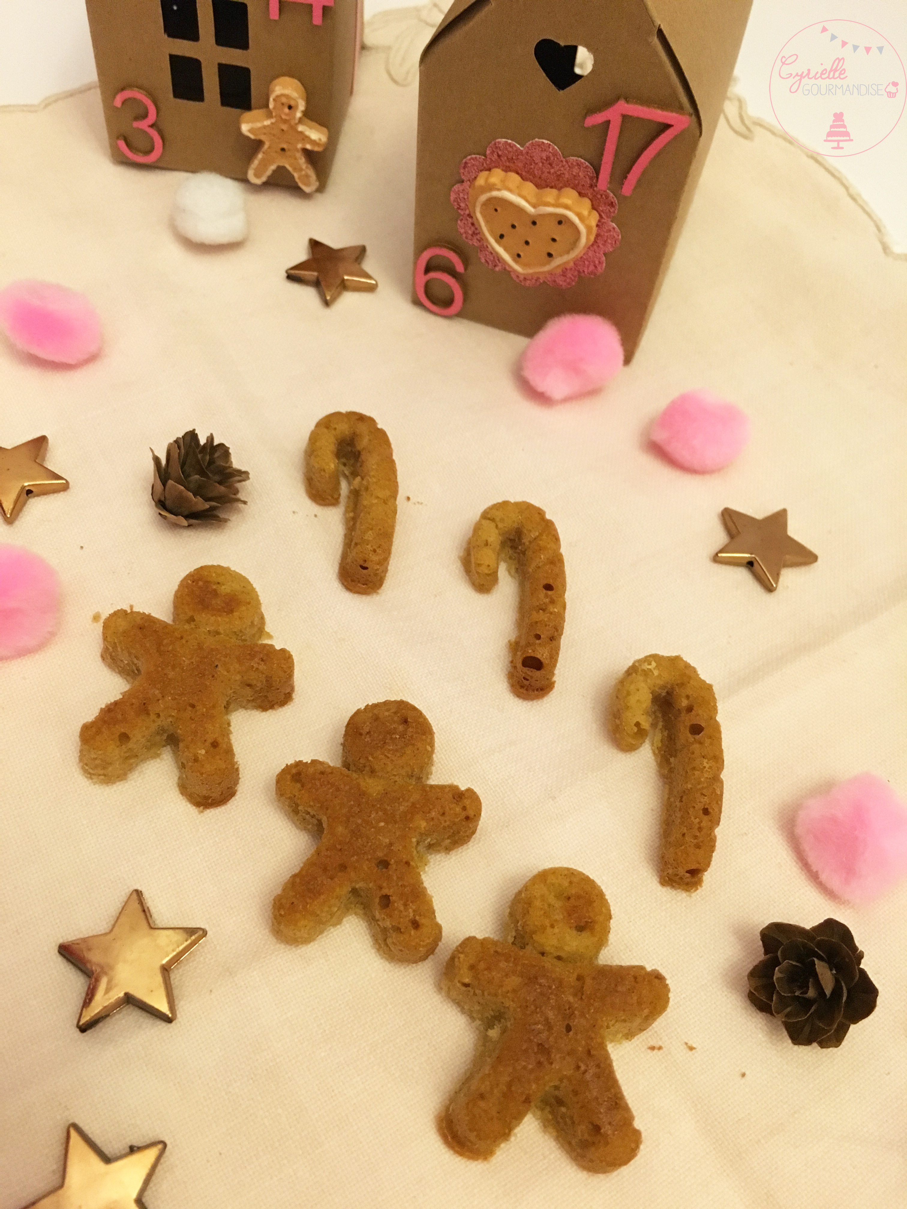 Pain d'épices gingerbreadman