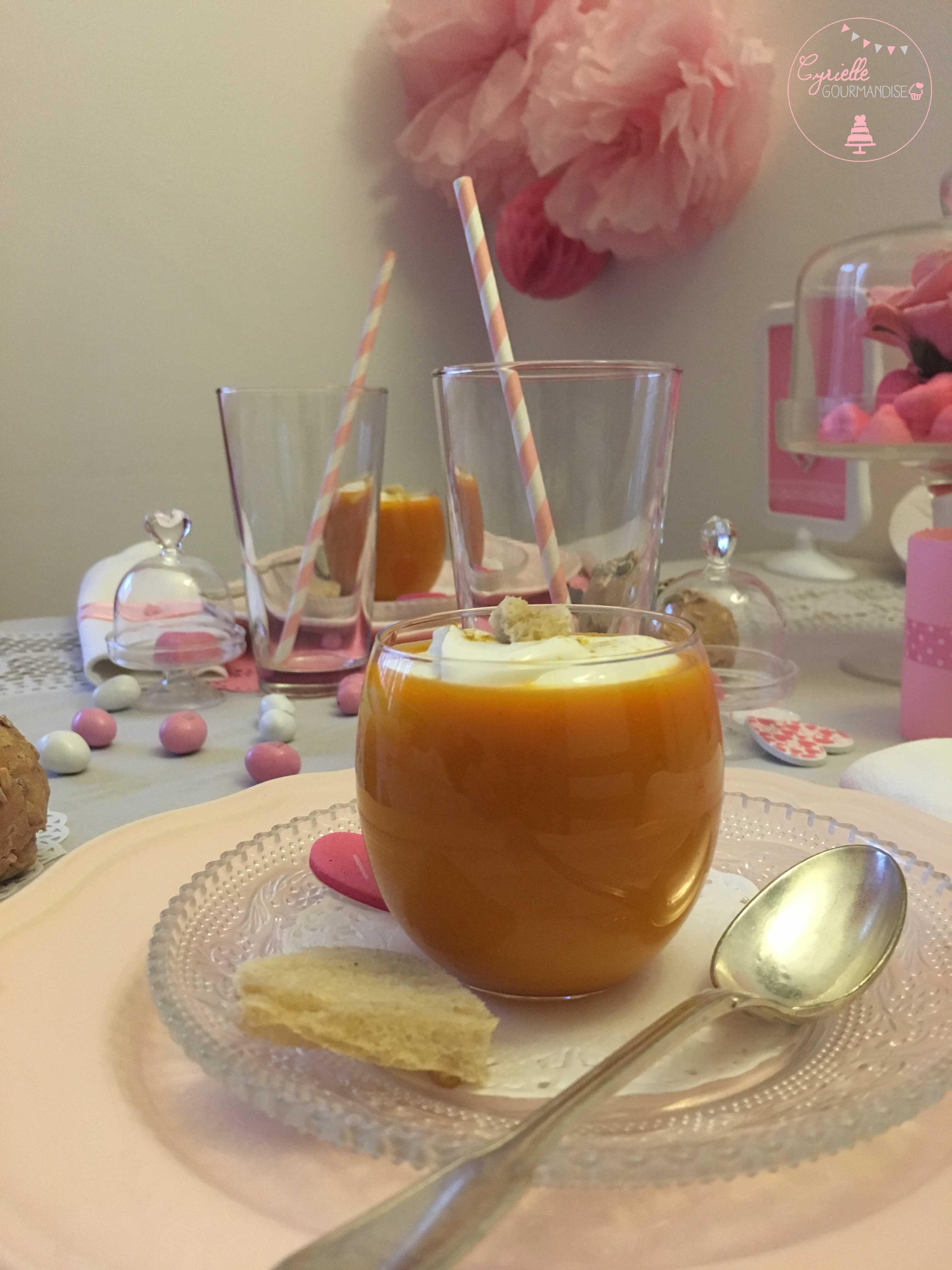 Cappuccino Potiron Curry Coco
