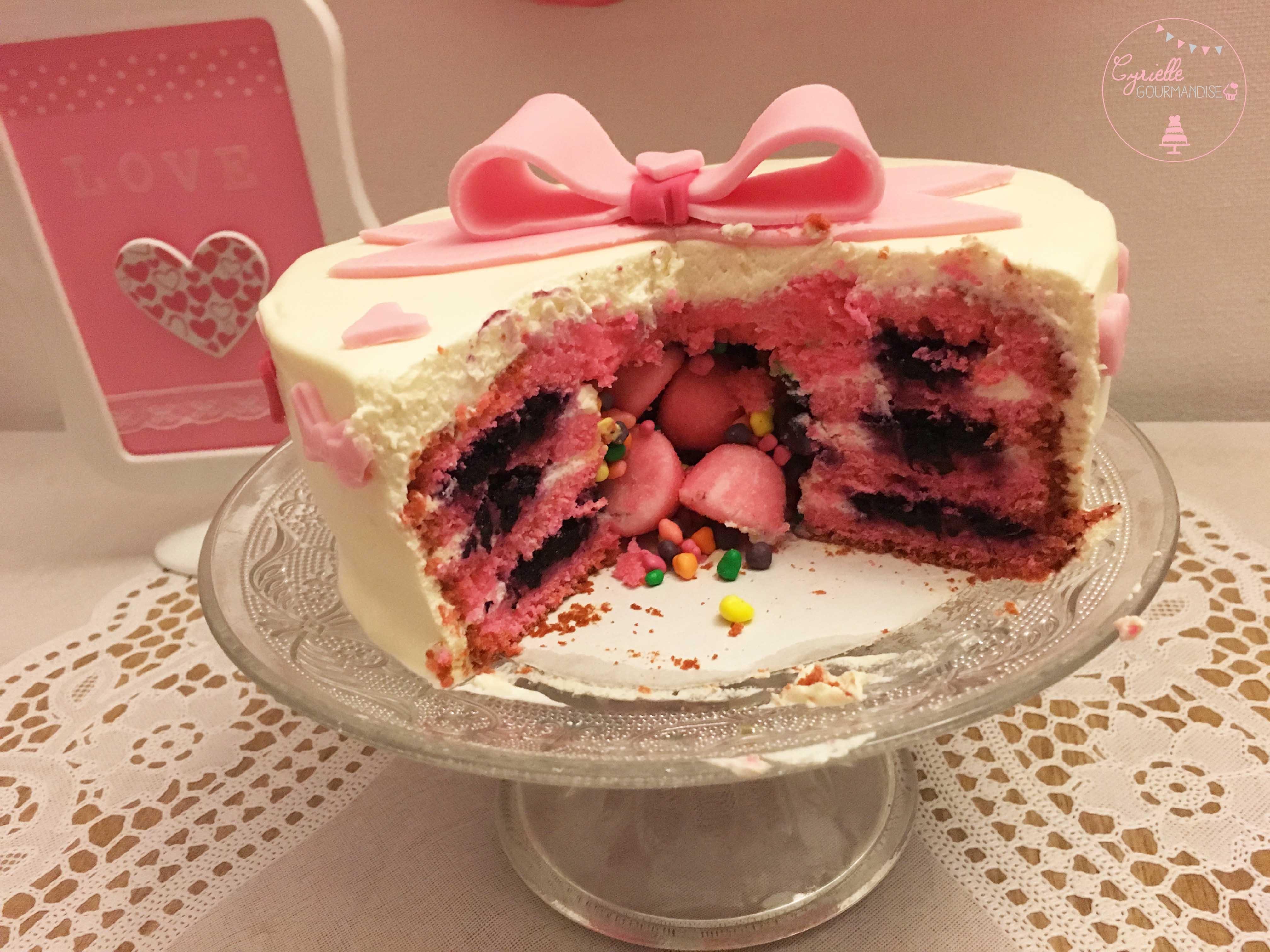 Love Cake Surprise intérieur 3