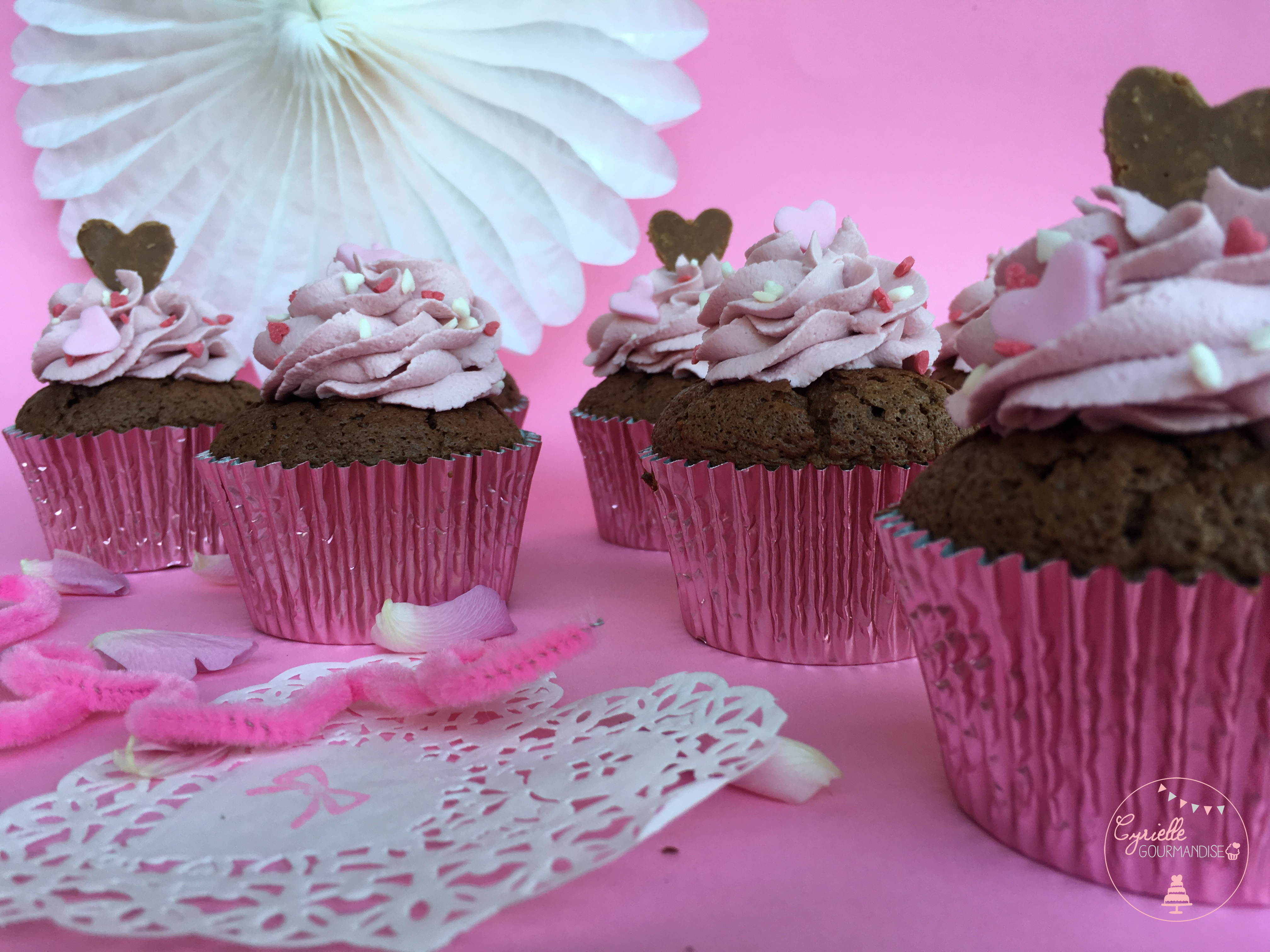 Love Cupcake Chocolat Framboise 6