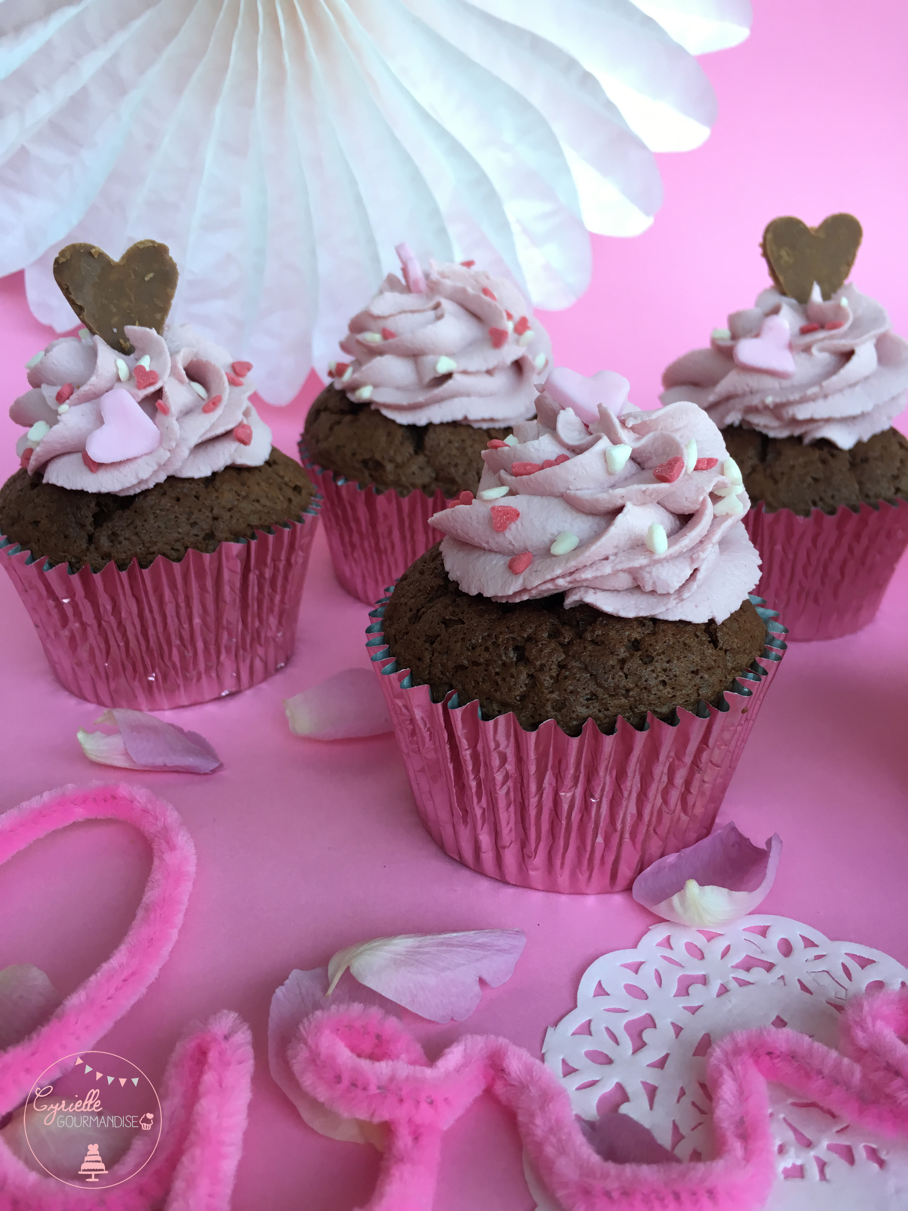 Love Cupcake Chocolat Framboise 7