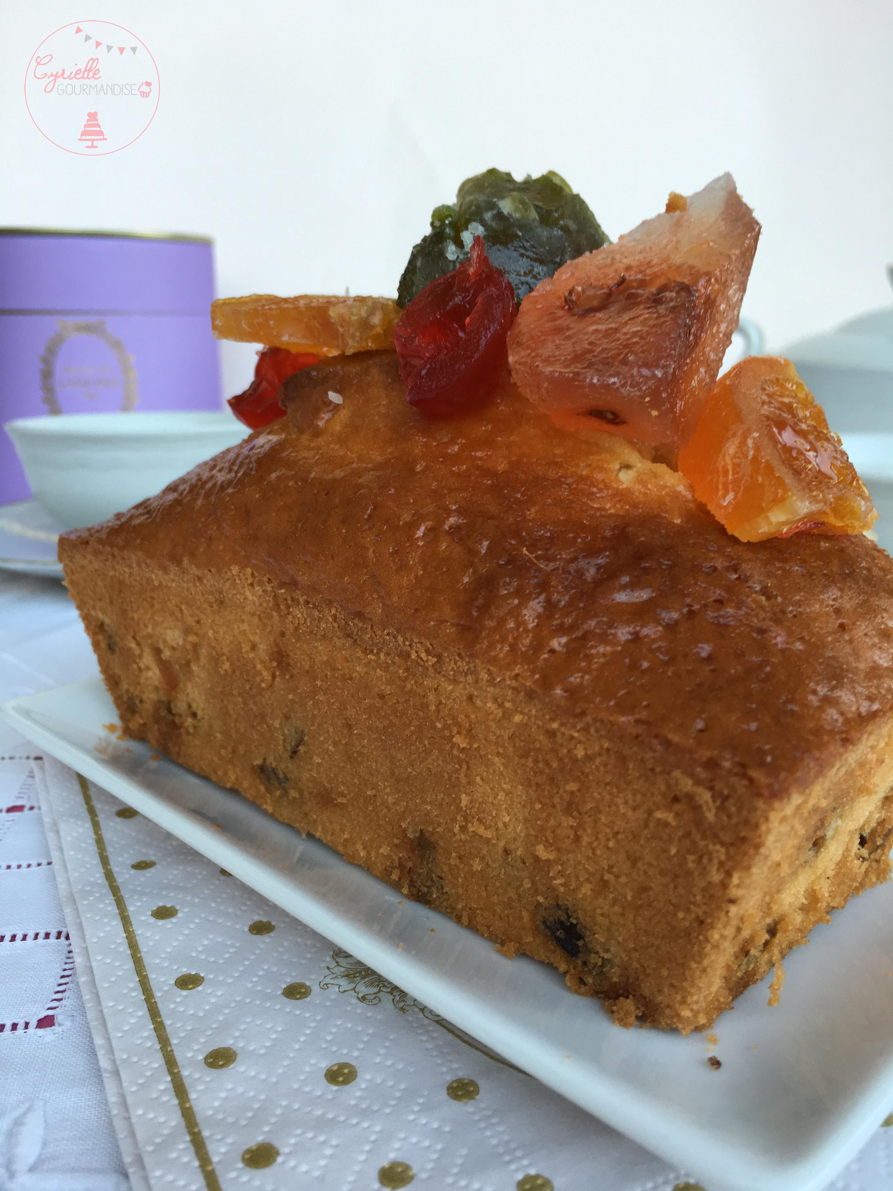 Cake fruits confits 1