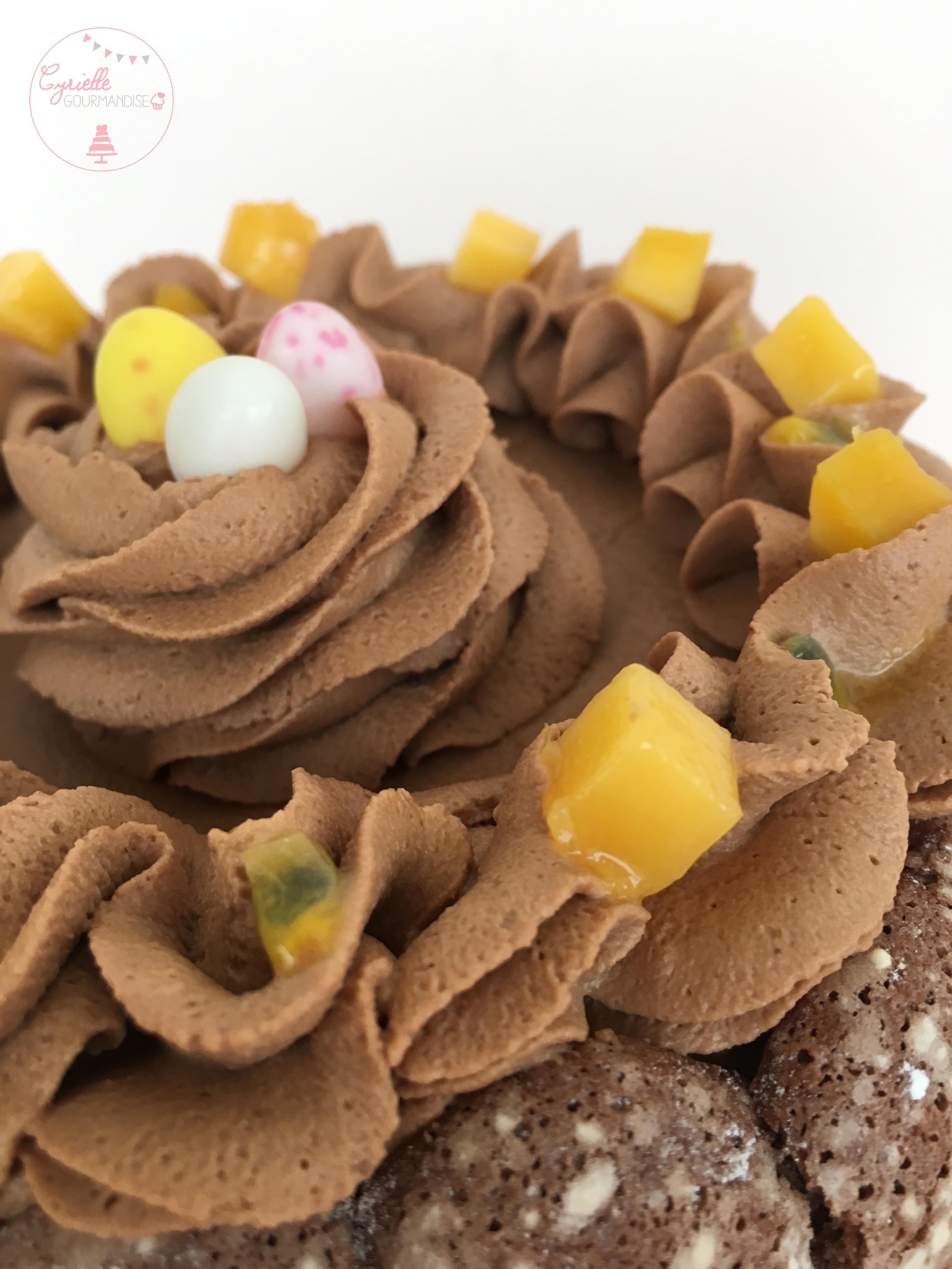 Charlotte chocolat mangue passion 4