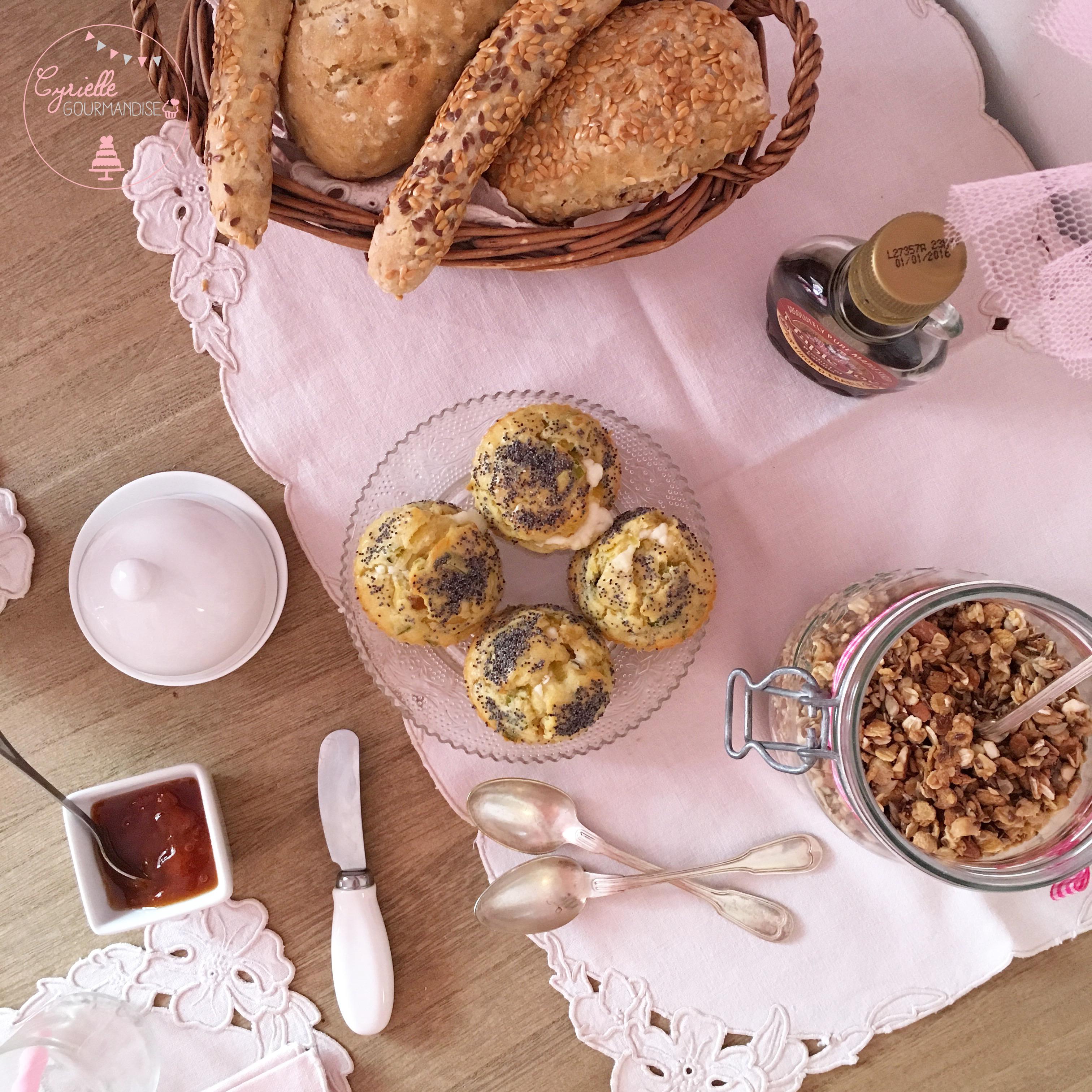 Muffins poireau chèvre 3