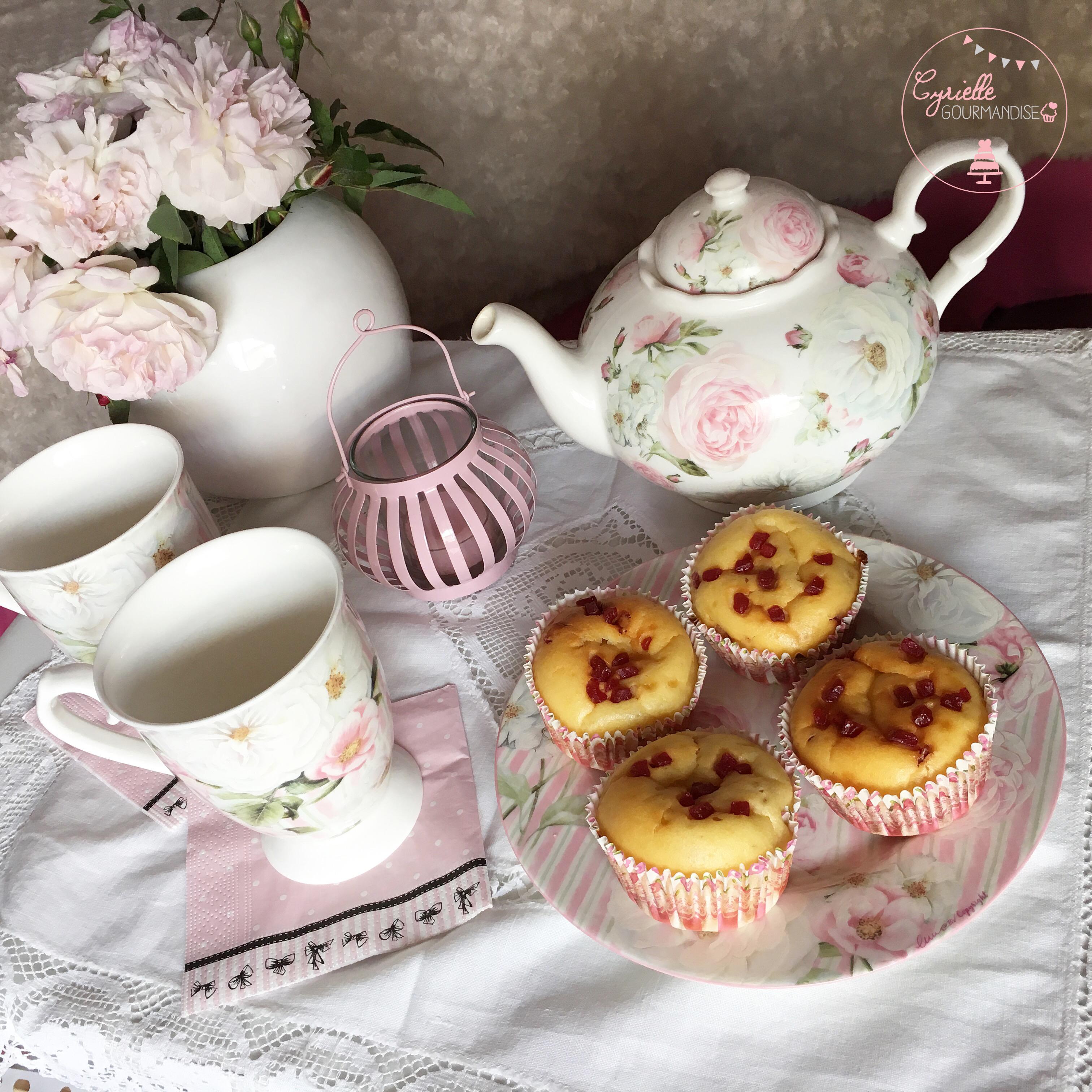 moelleux ricotta citron framboise thé