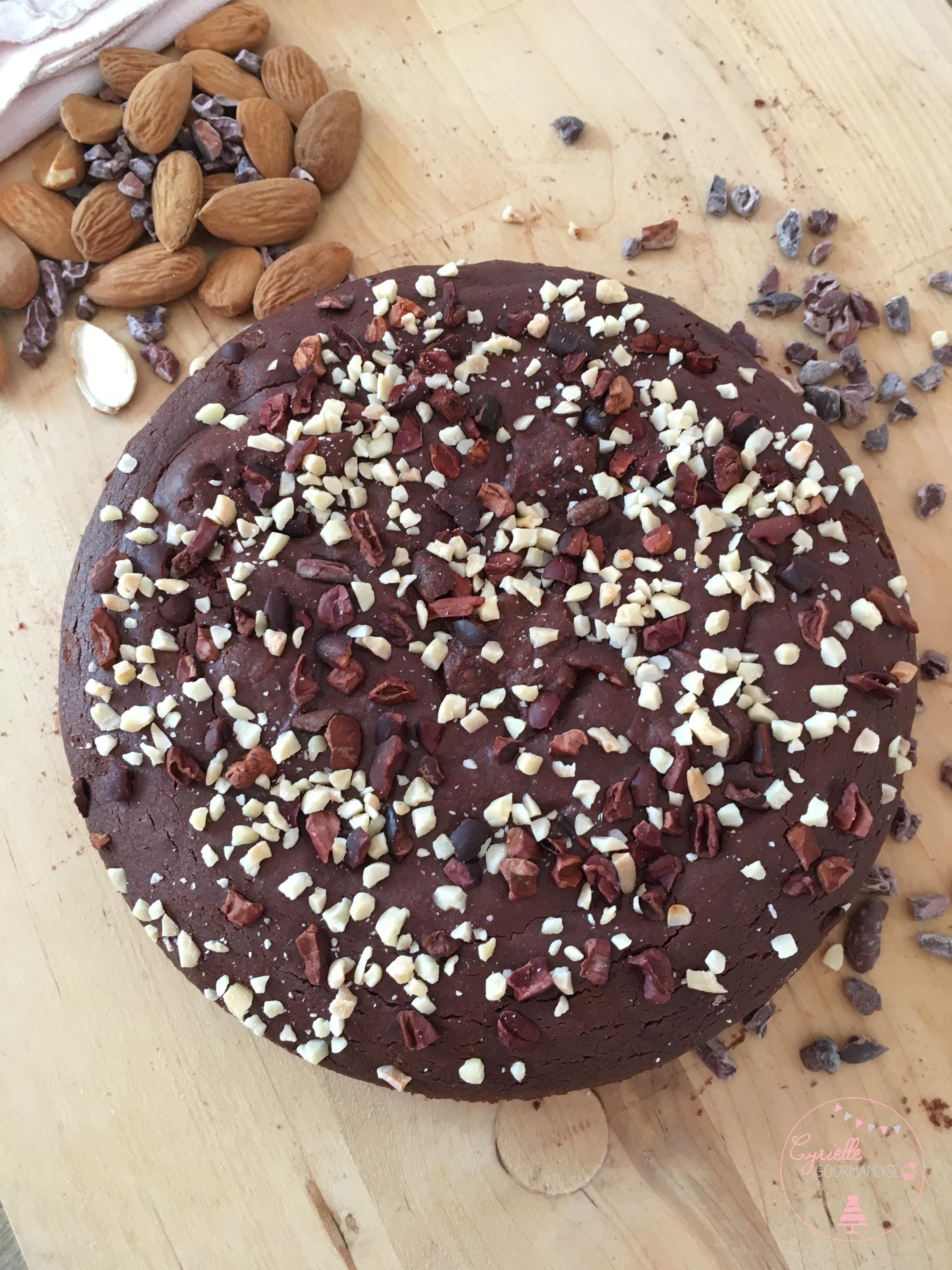Gateau chocolat vegan 3