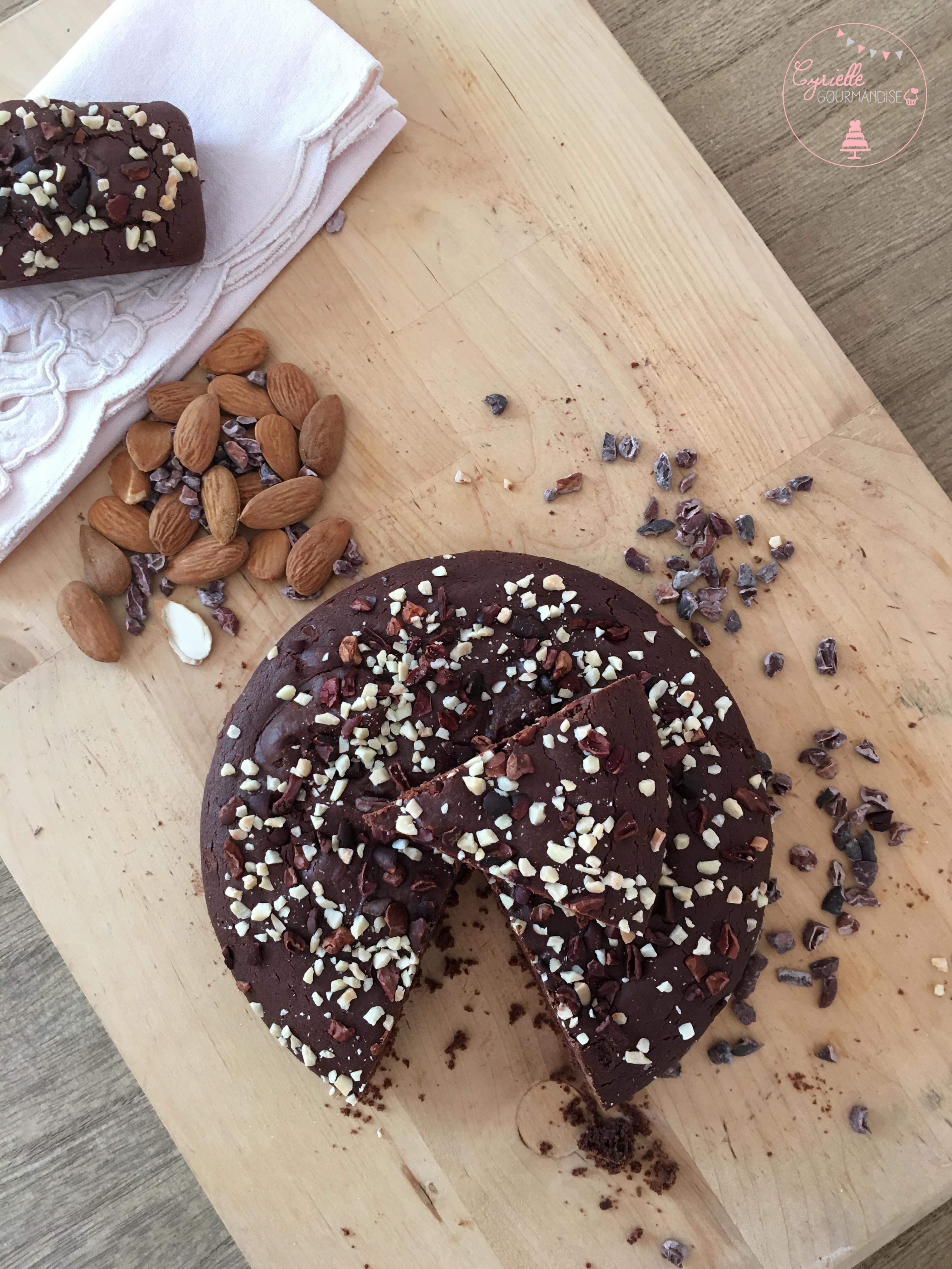 Gateau chocolat vegan 5