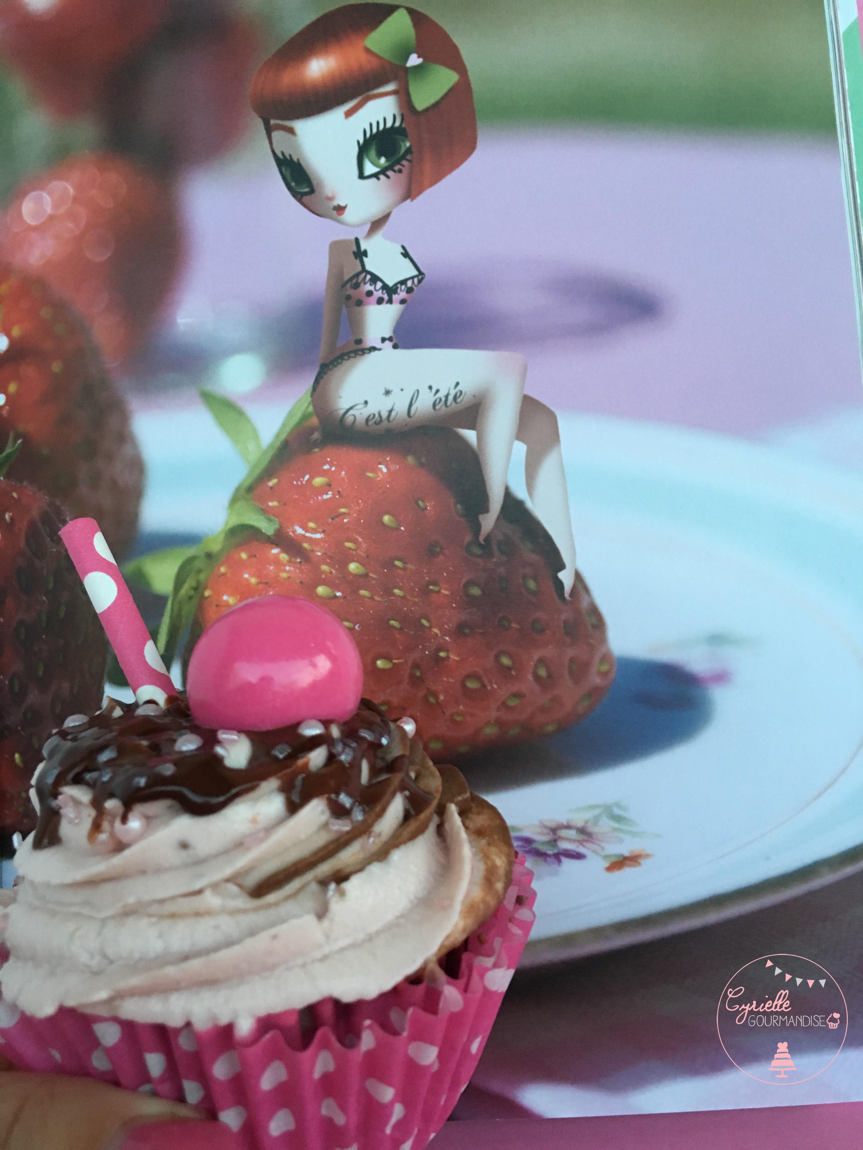 Cupcakes fraise choco 6 Adolie Day