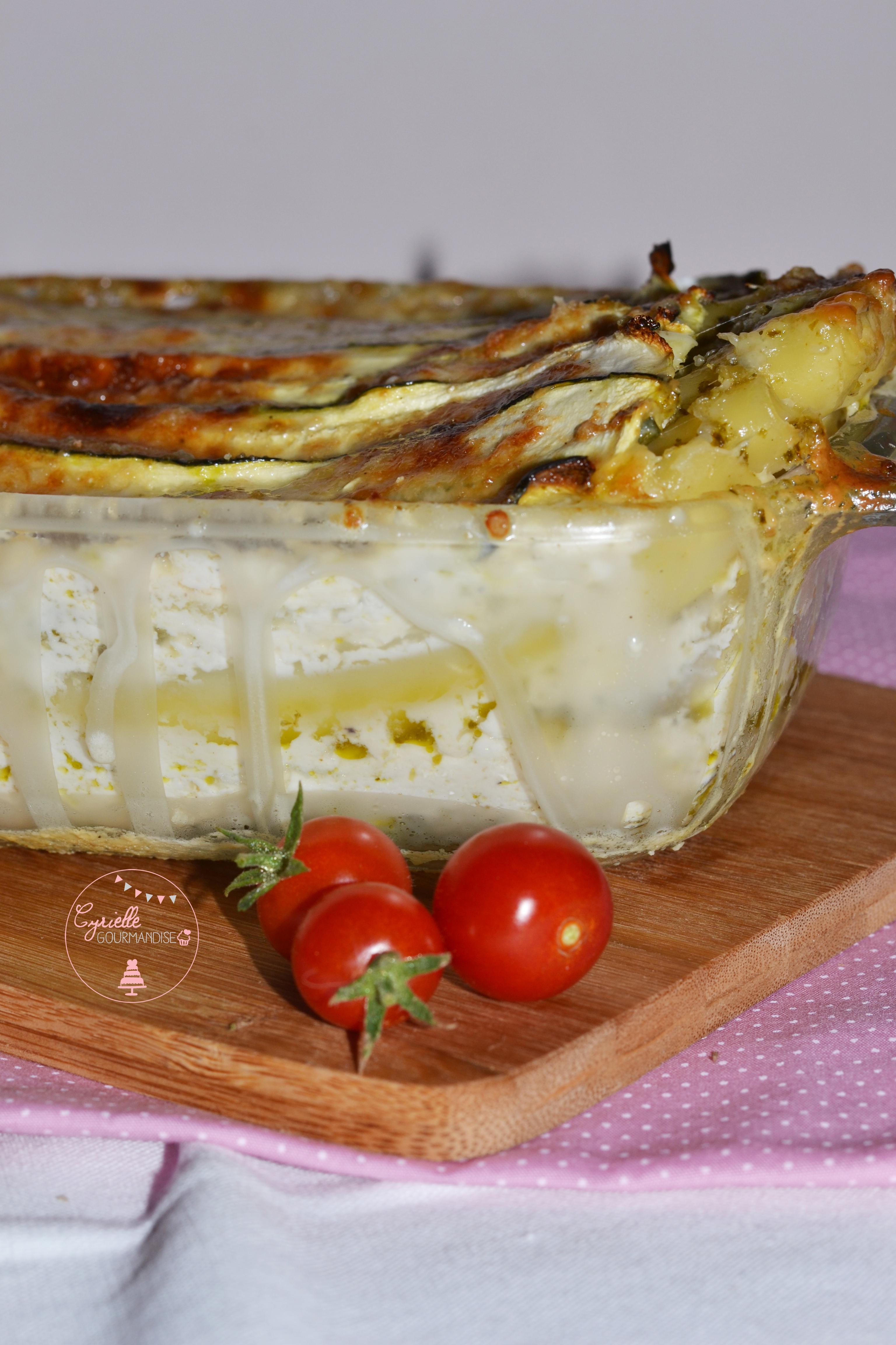 Lasagnes Courgettes pesto à ma façon 2