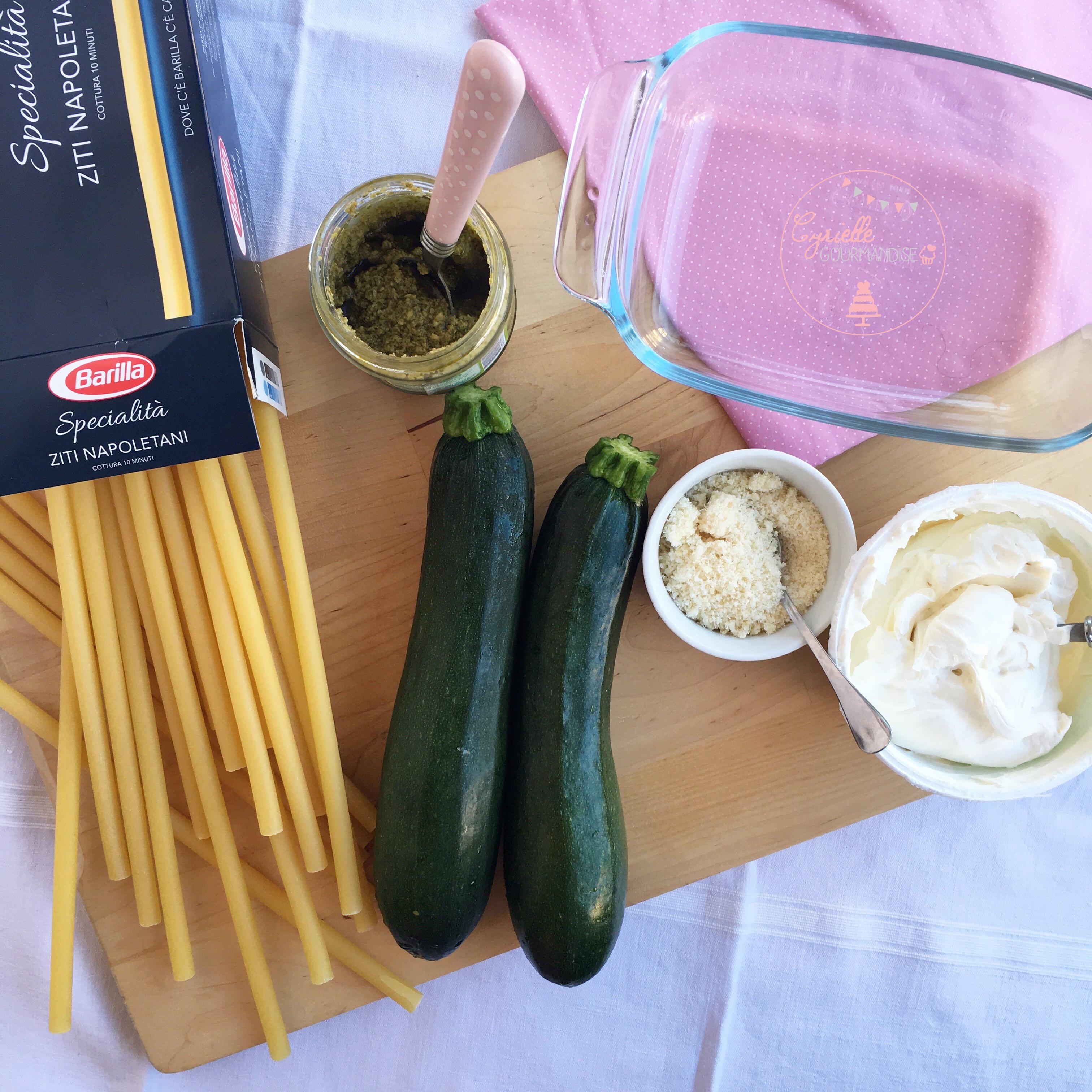 Lasagnes Courgettes pesto à ma façon 6