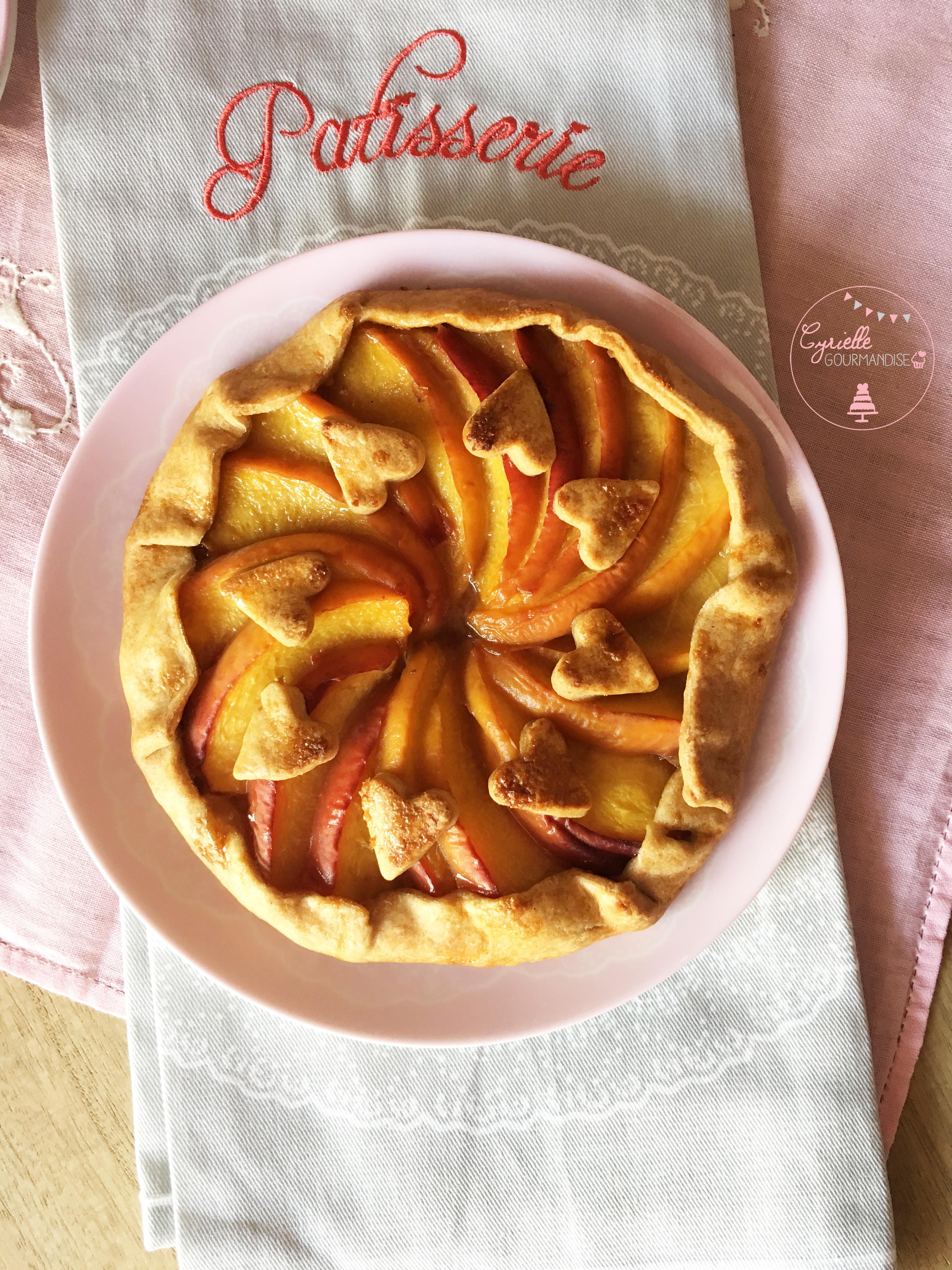 tarte-rustique-peches