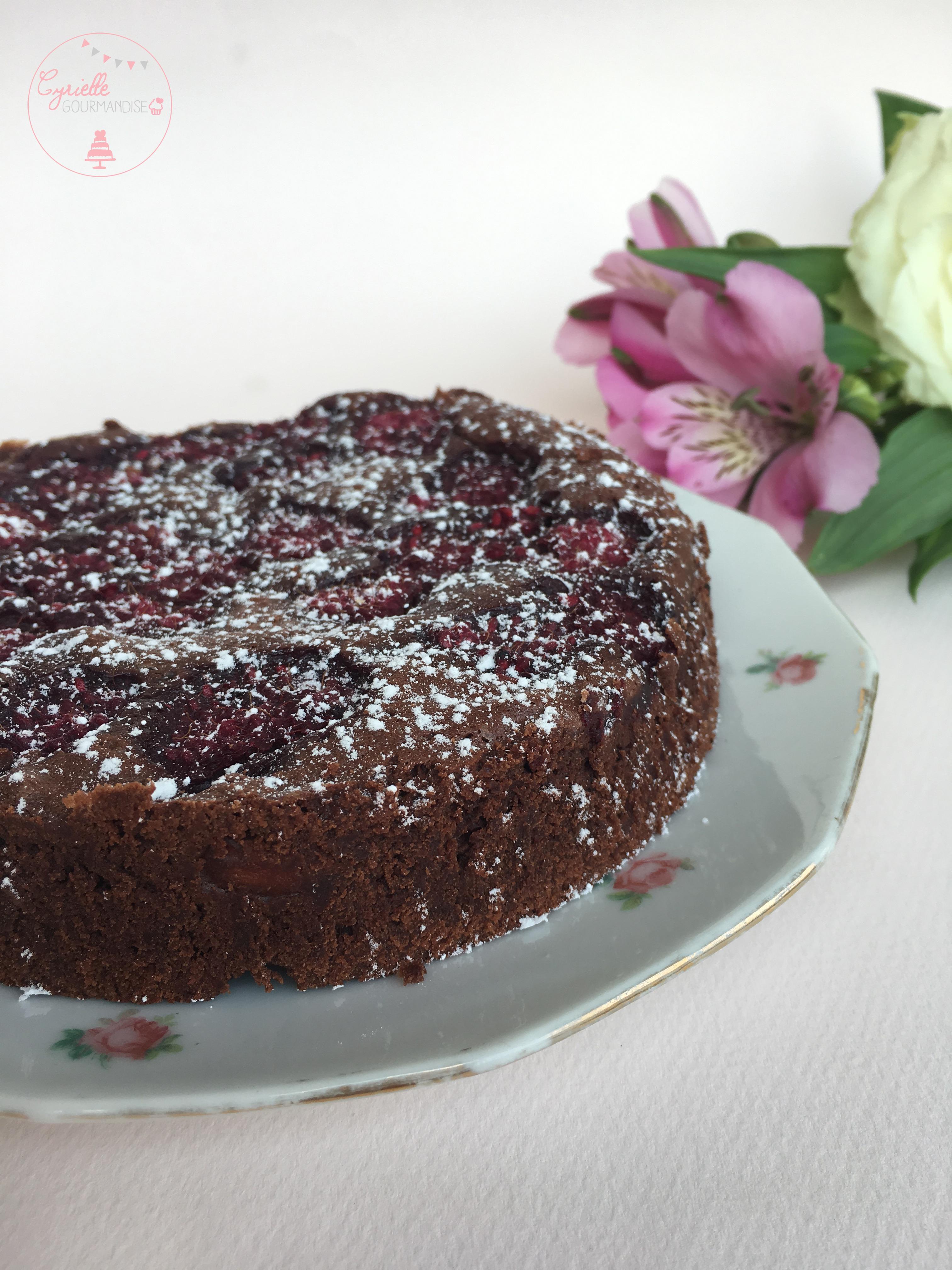 brownie-amandes-framboises-2