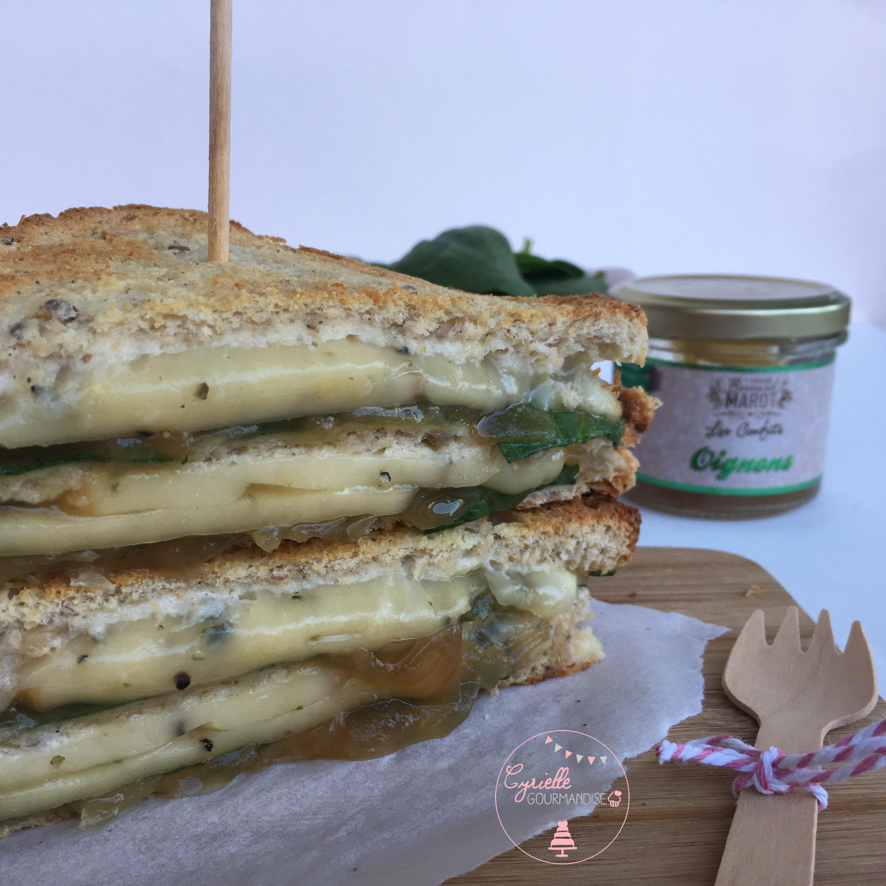 Croque Raclette Oignons 4