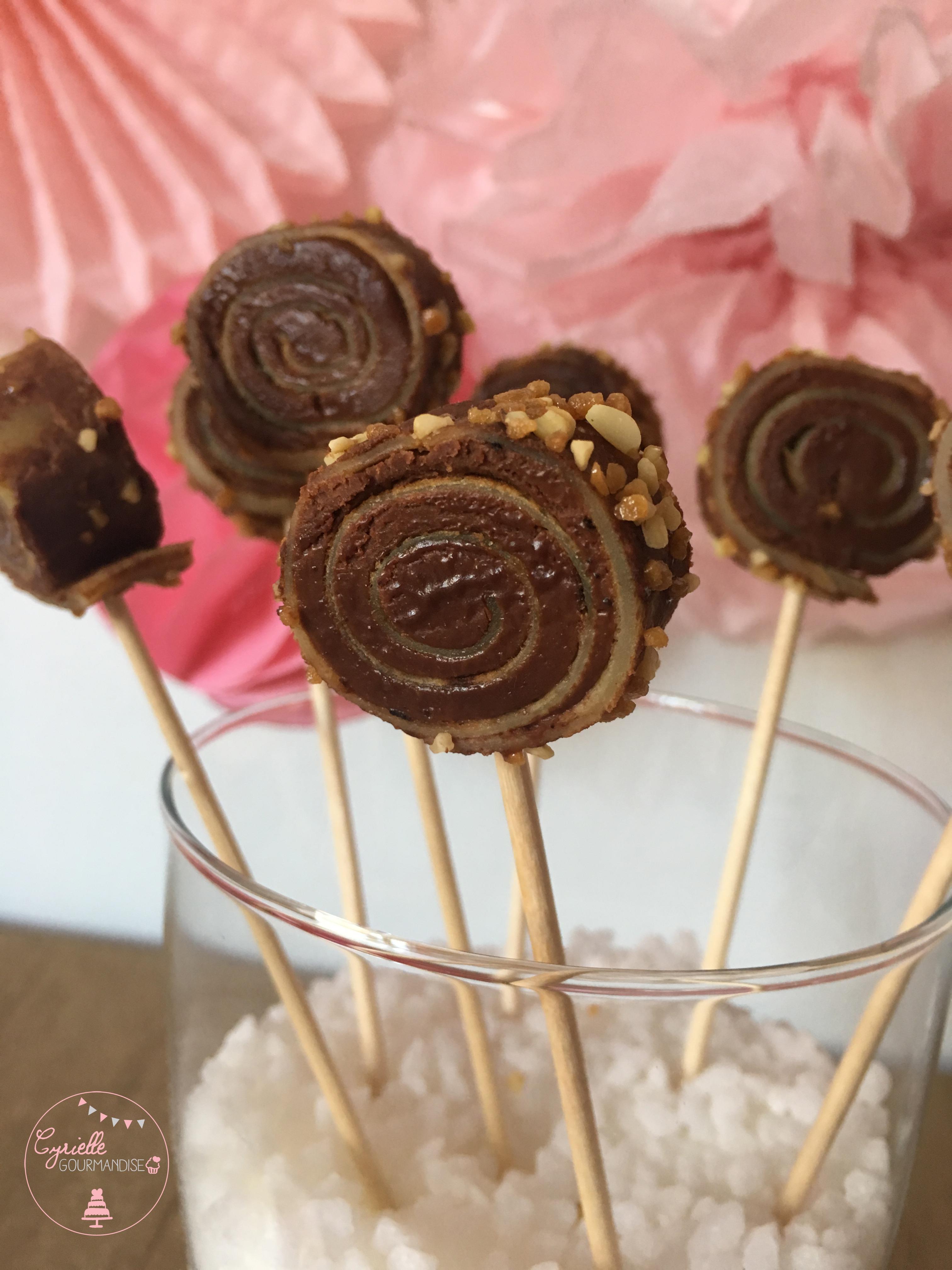 Crepes sucettes chocolat noisette 4