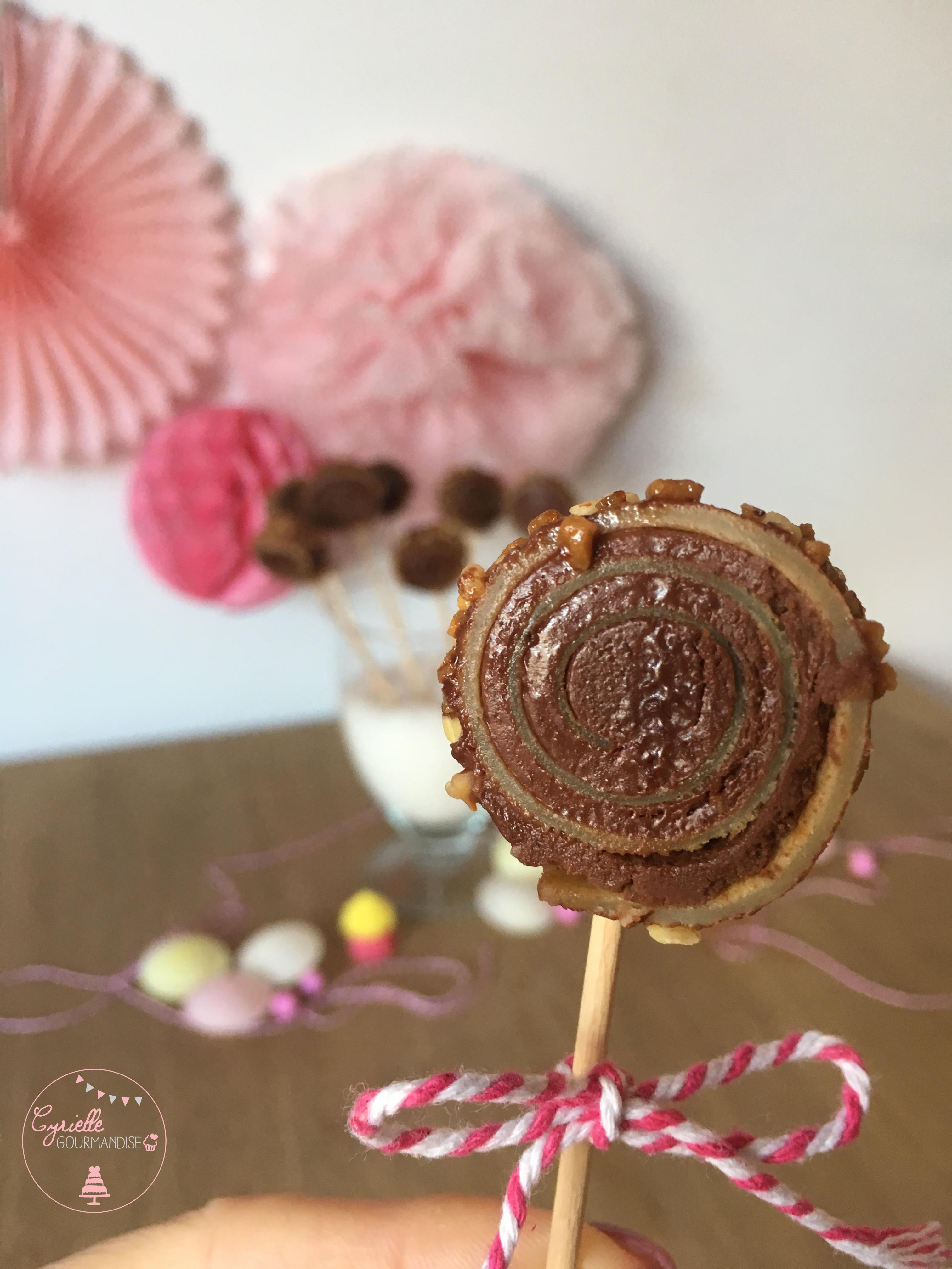 Crepes sucettes chocolat noisette 5