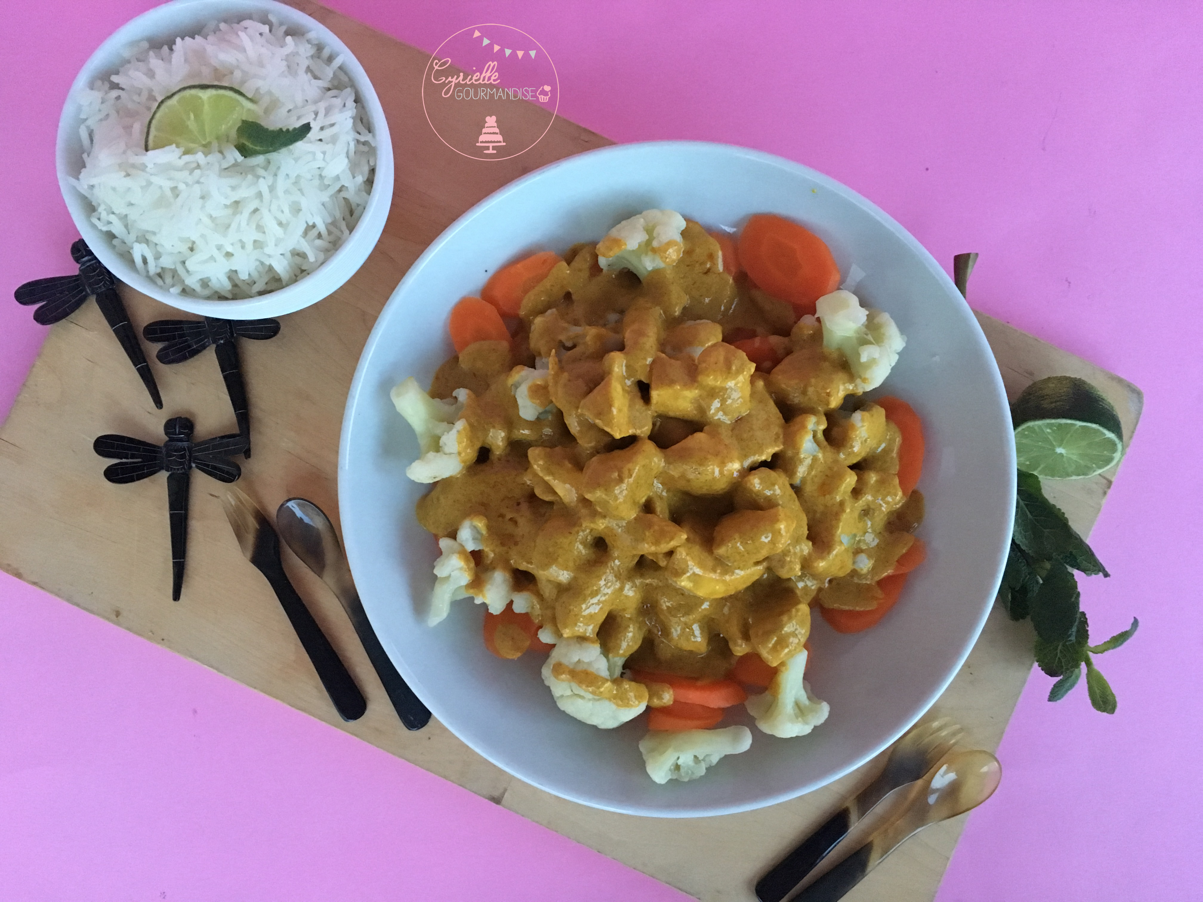 Curry poulet coco 2