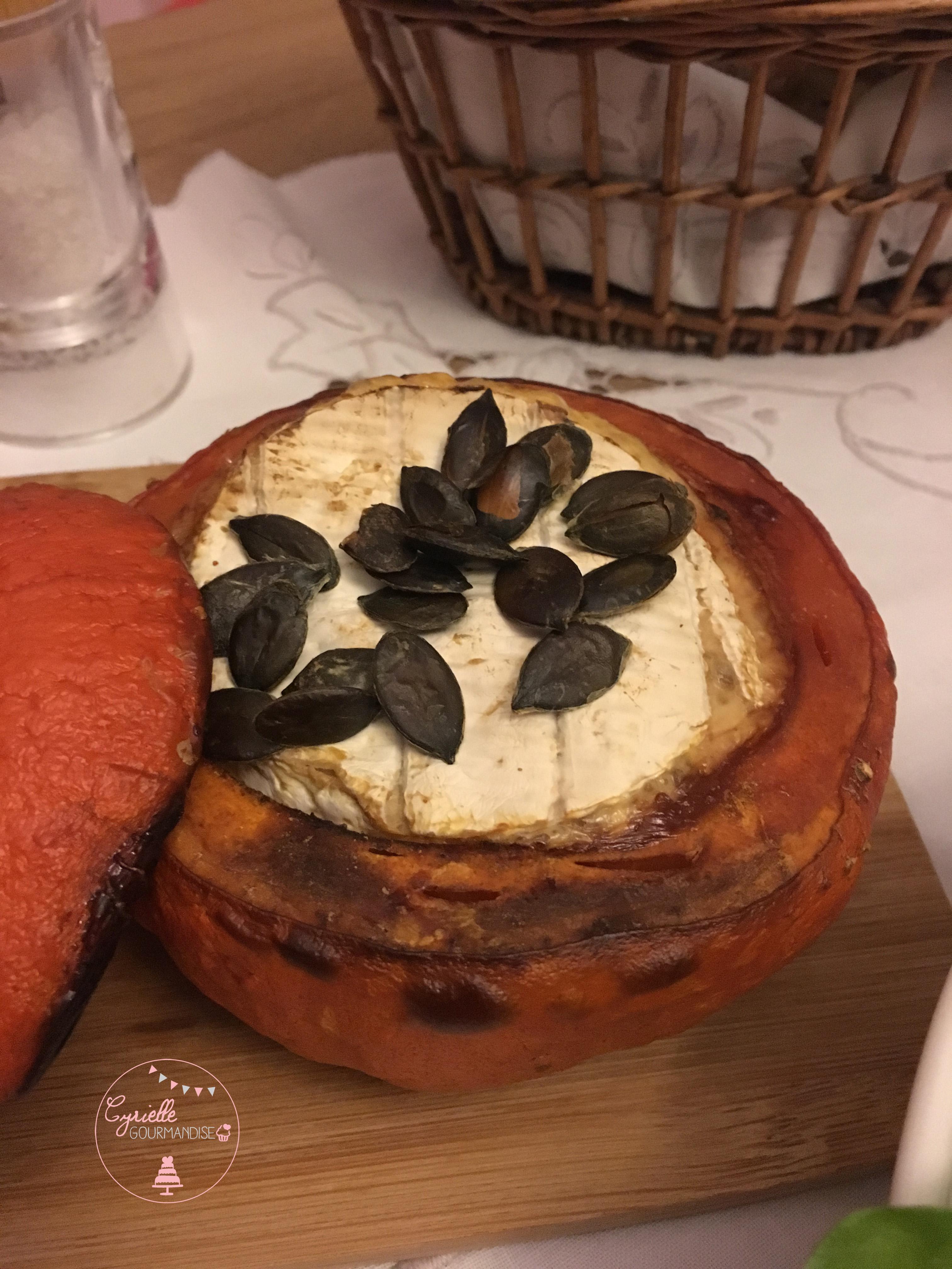 Potimarron et camembert rôtis 2