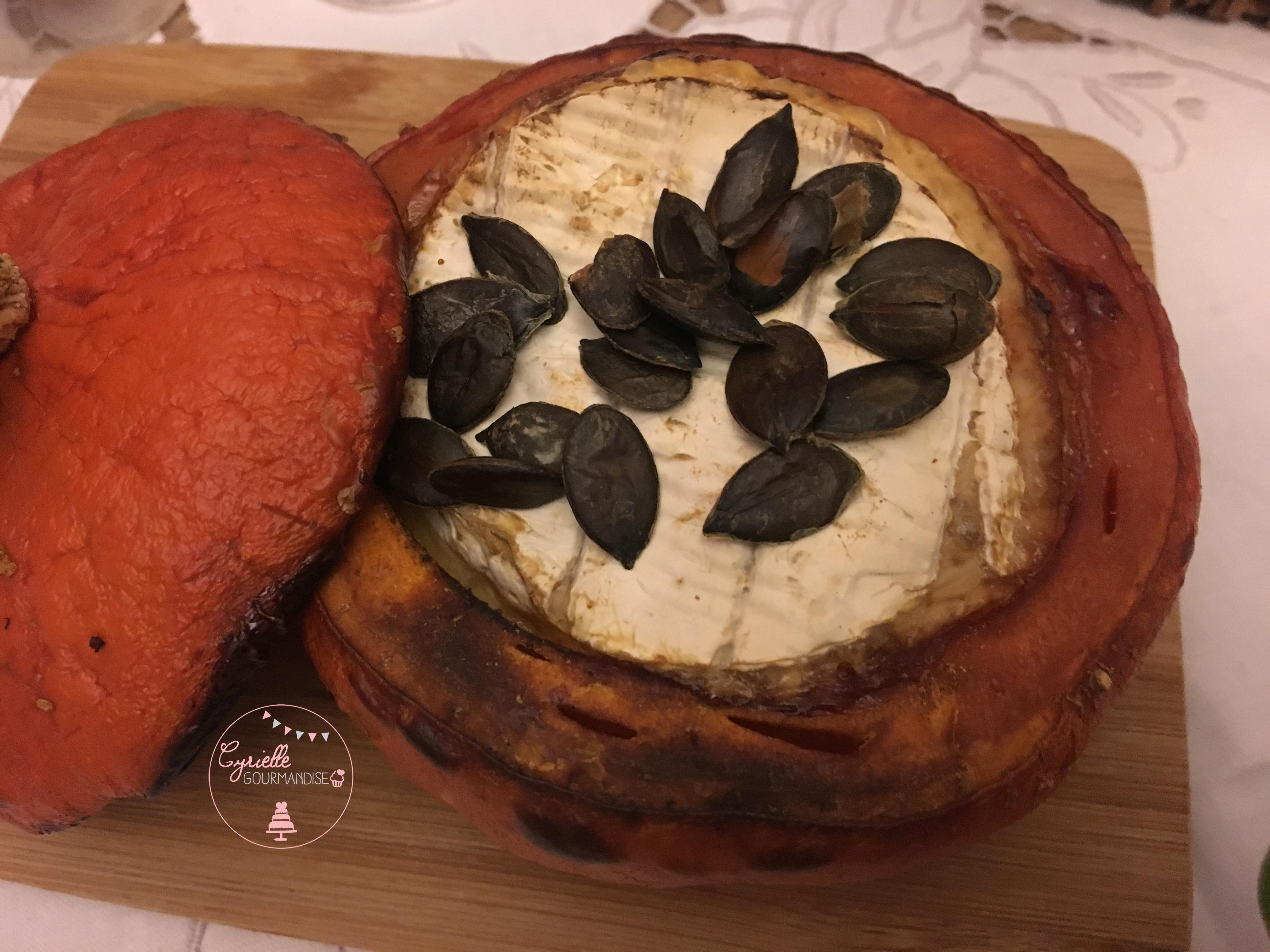 Potimarron et camembert rôtis 3