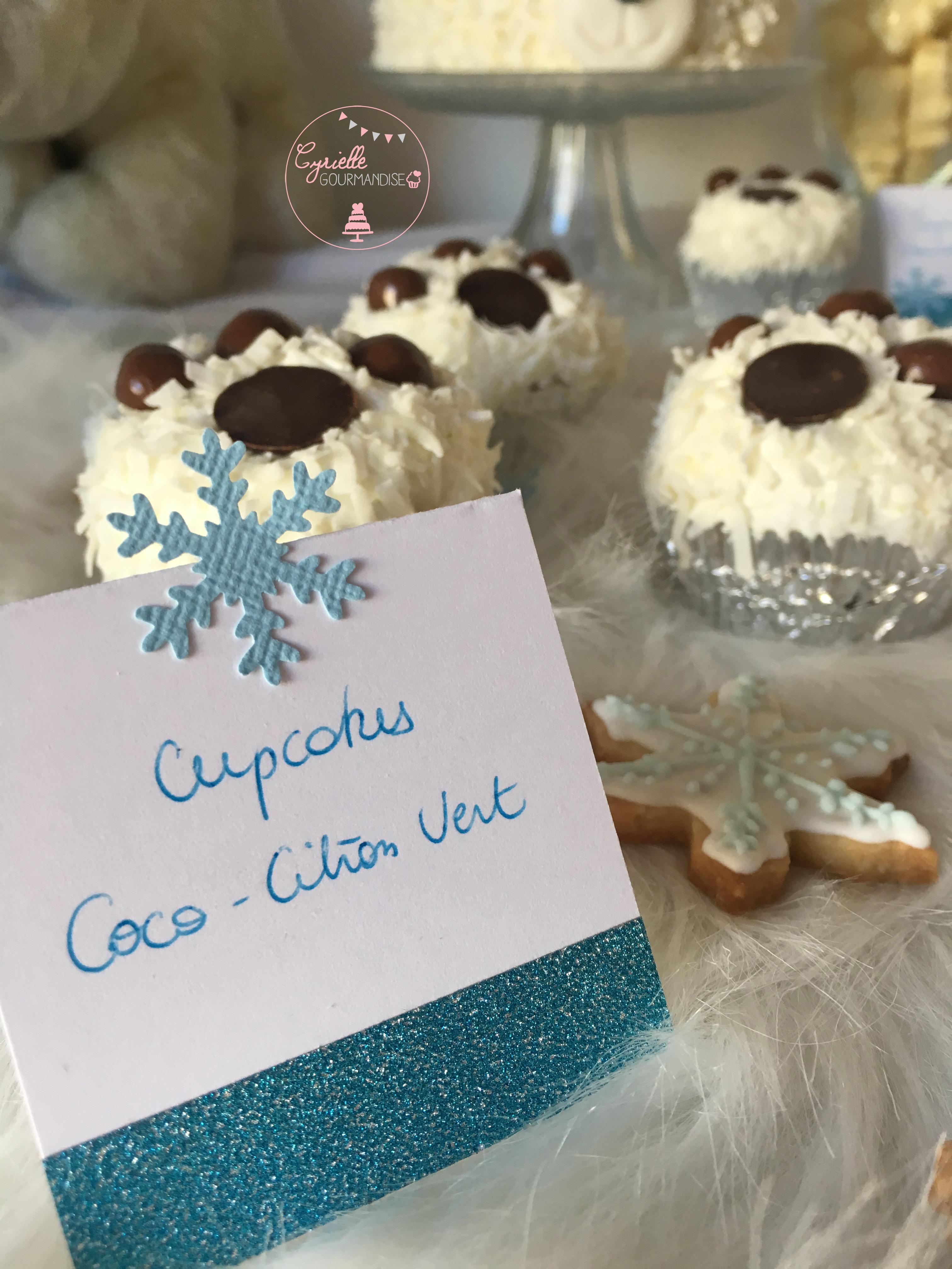 Cupcakes Coco Citron Vert 2