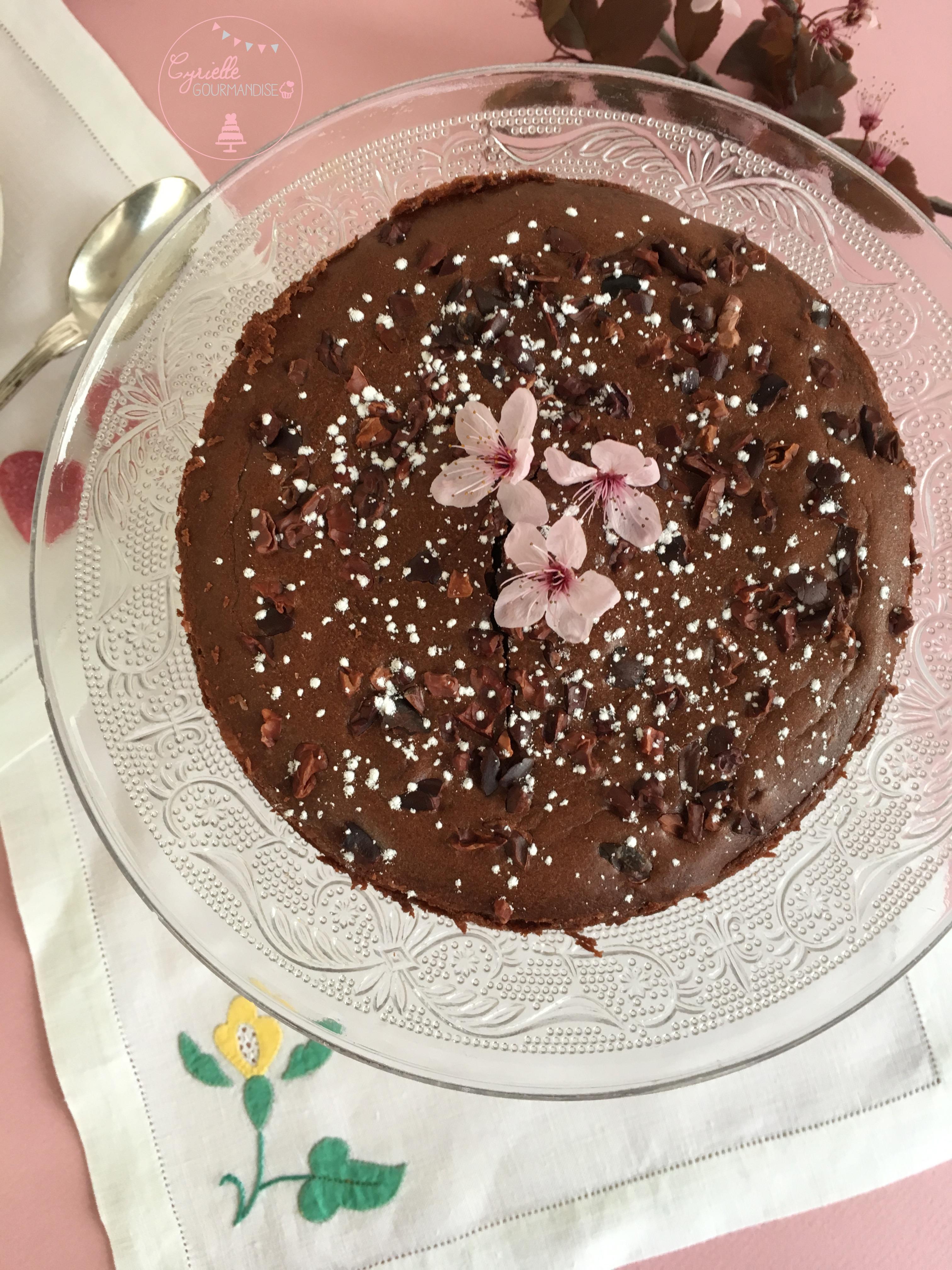 Gâteau chocolat Mascarpone Lignac 3
