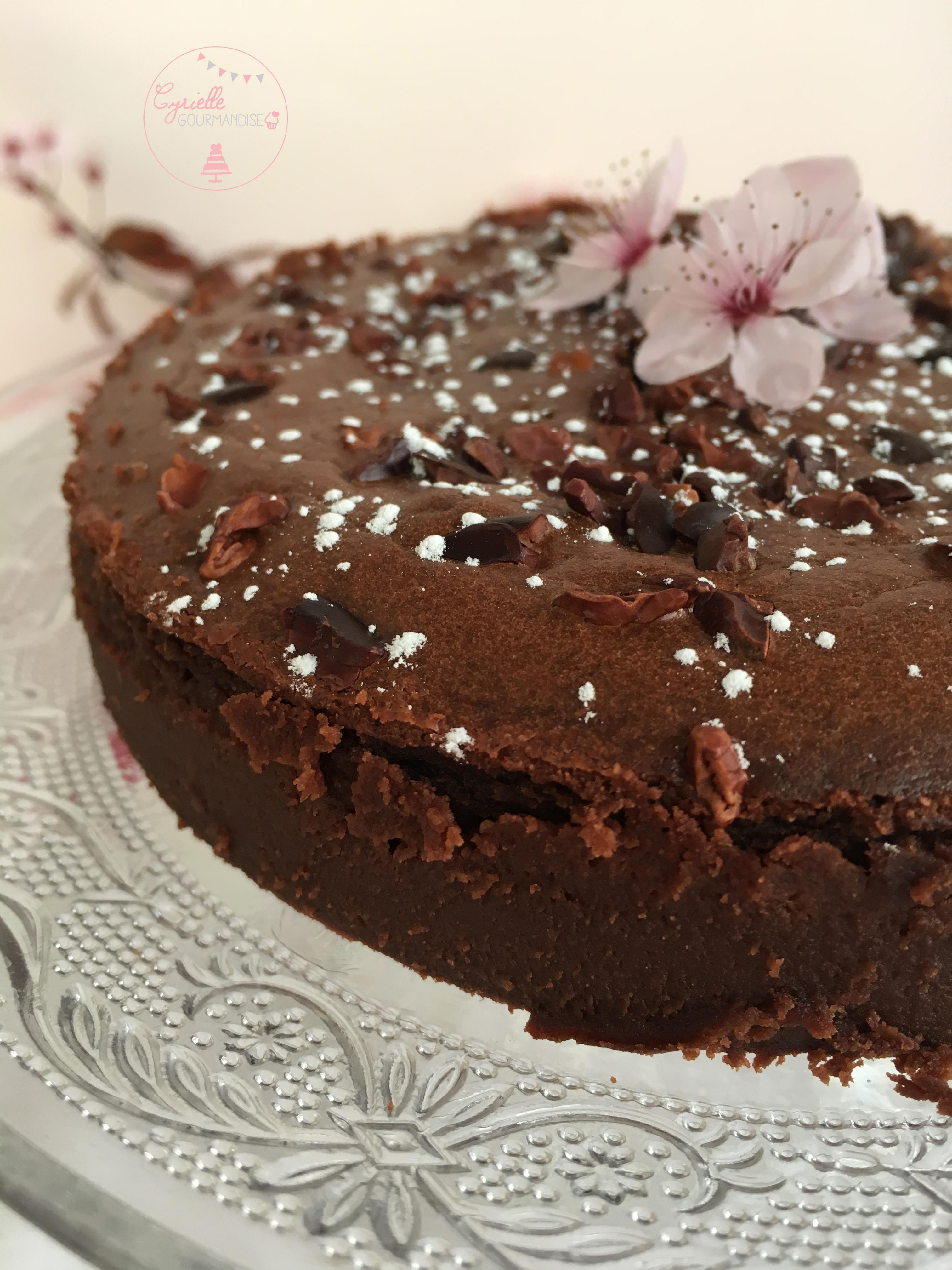 Gâteau chocolat Mascarpone Lignac 5