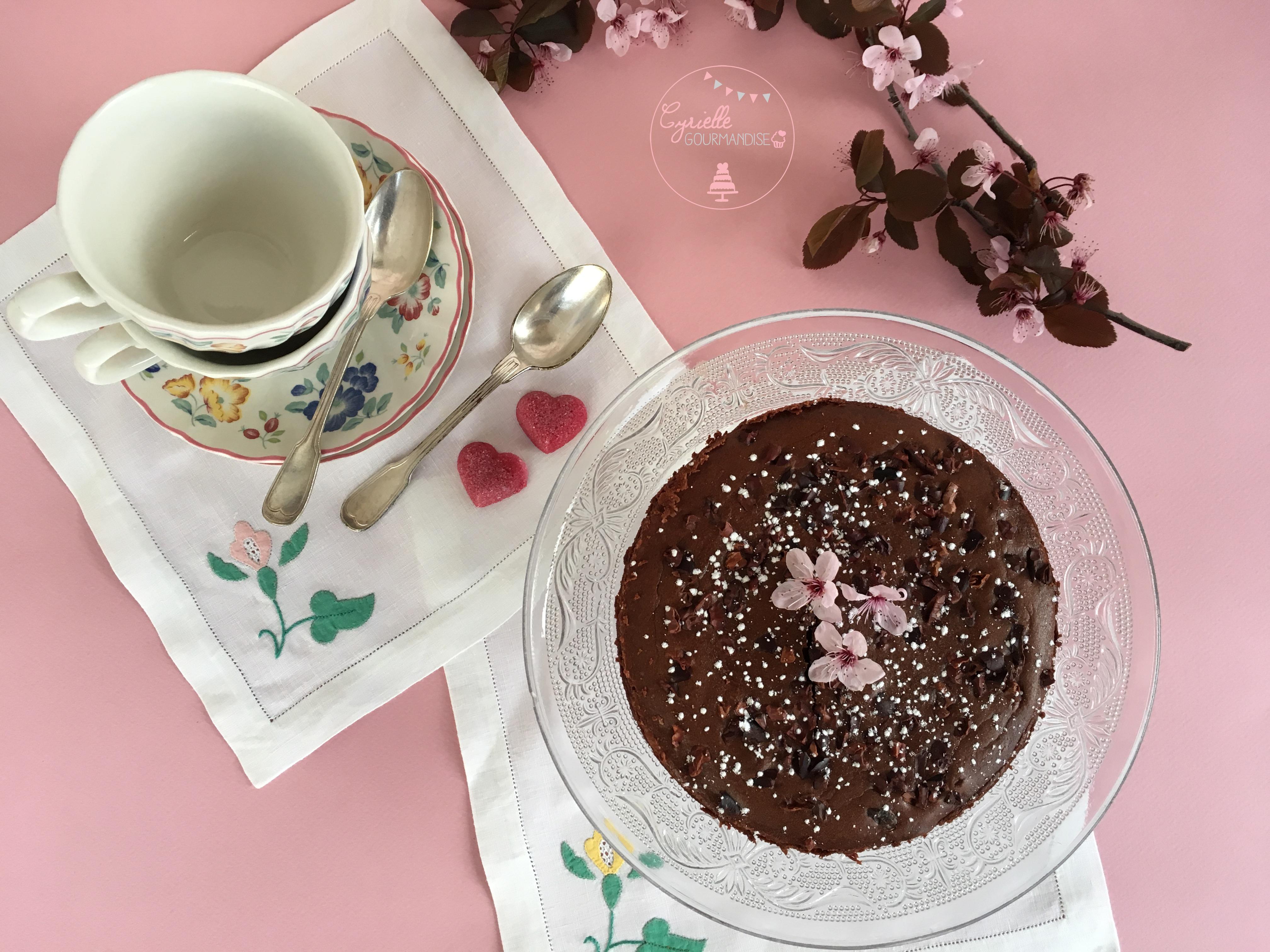 Gâteau chocolat Mascarpone Lignac